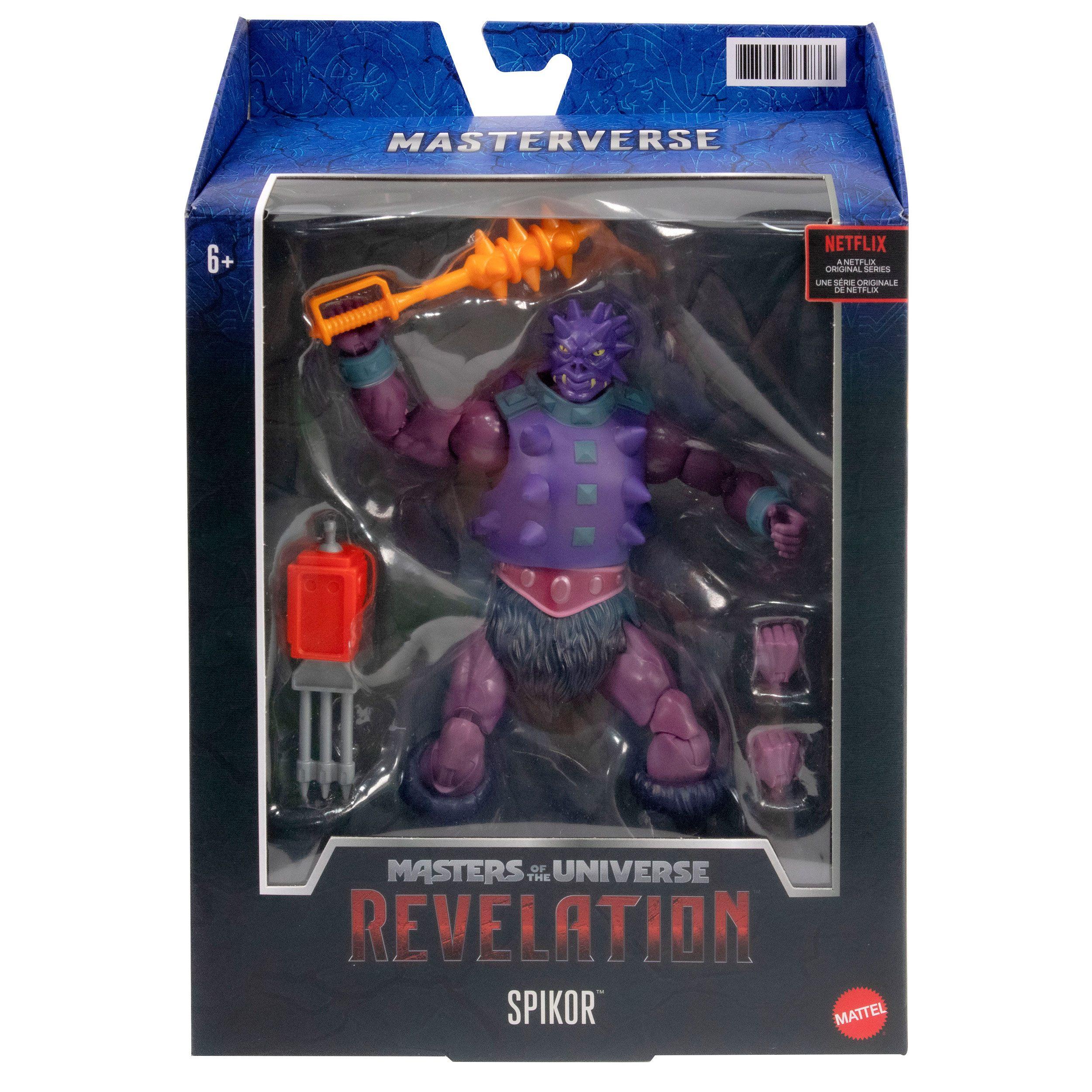 Masters of the Universe: Revelation Masterverse Actionfigur 2021 Spikor 18 cm MATTGYV14 0887961979862