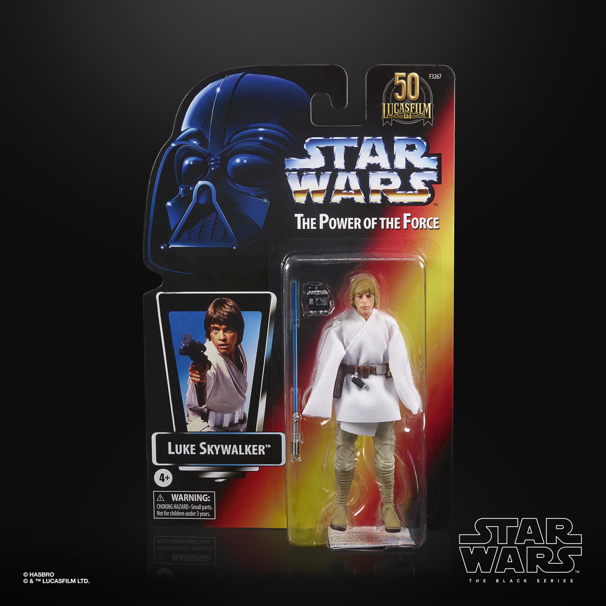Star Wars The Black Series THE POWER OF THE FORCE - Luke Skywalker