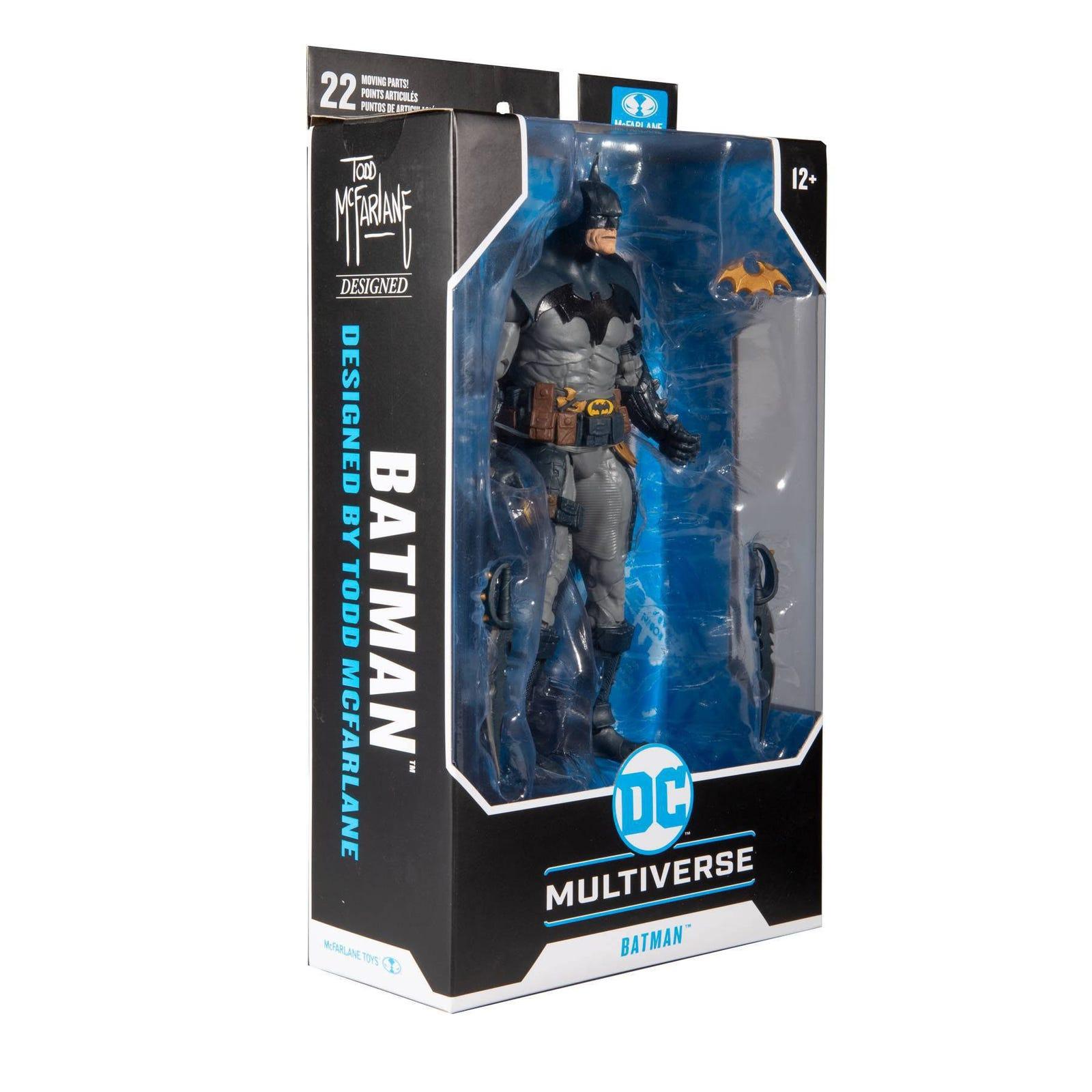 DC Multiverse Actionfigur Batman Designed by Todd McFarlane 18 cm  787926150063