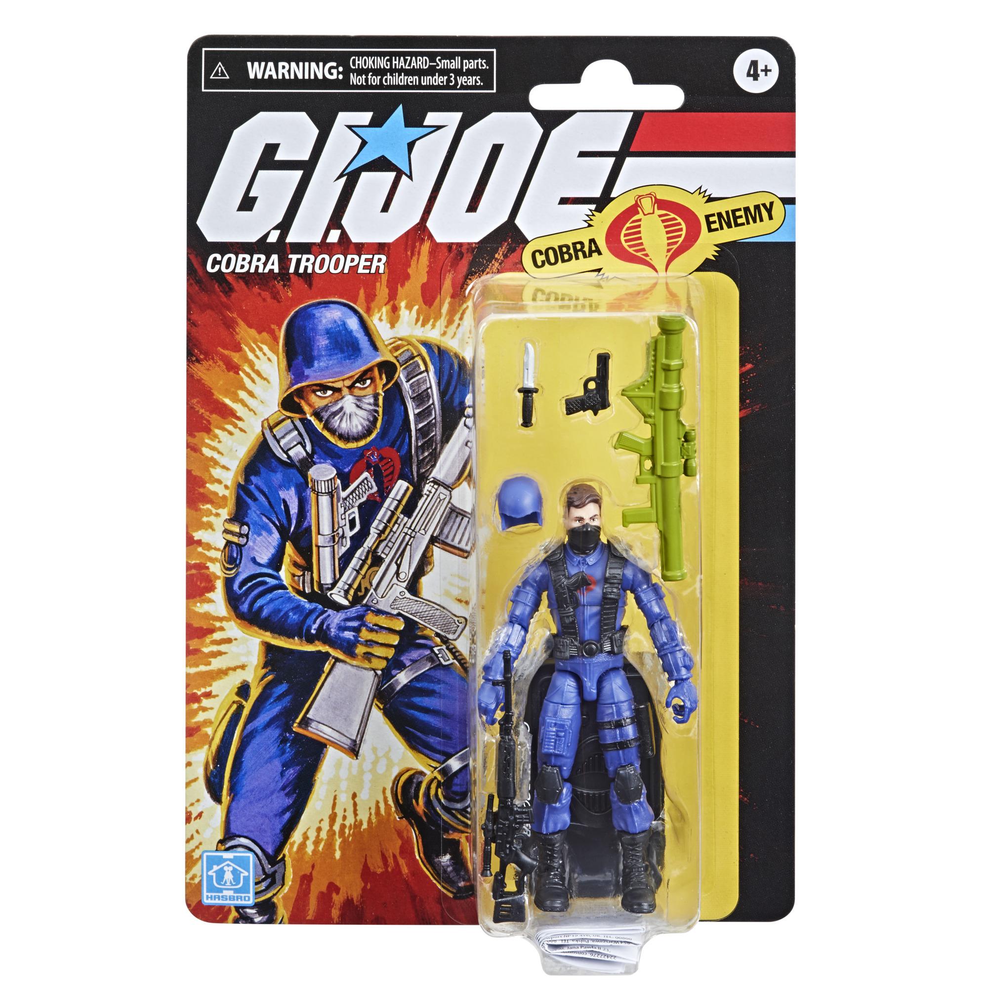 G.I. Joe RETRO Series Action Figure Cobra Trooper 9,5 cm  F27265L00  5010993852734