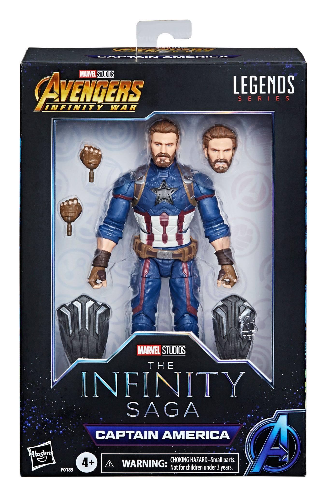 The Infinity Saga Marvel Legends Actionfigur 2021 Captain America (Avengers: Infinity War) 15 cm F01855L0 5010993839360