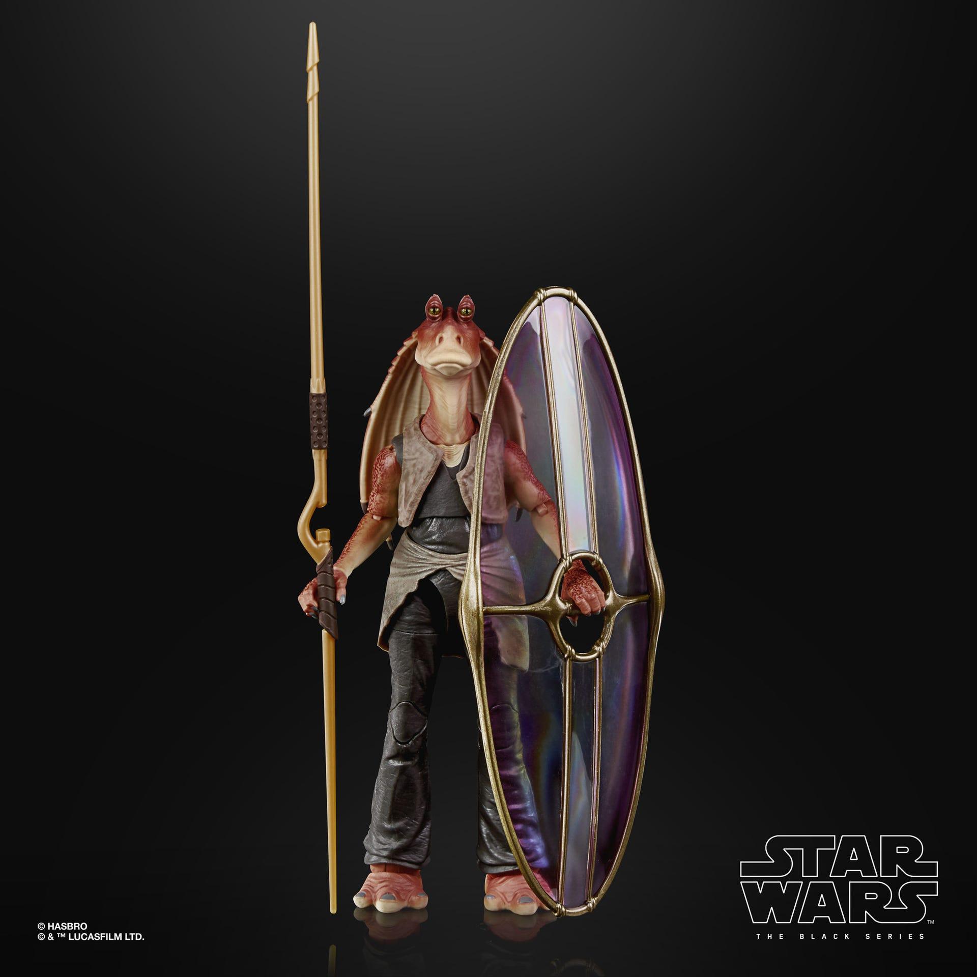 Star Wars The Black Series Jar Jar Binks Deluxe Figur 15 cm F0490 5010993782680