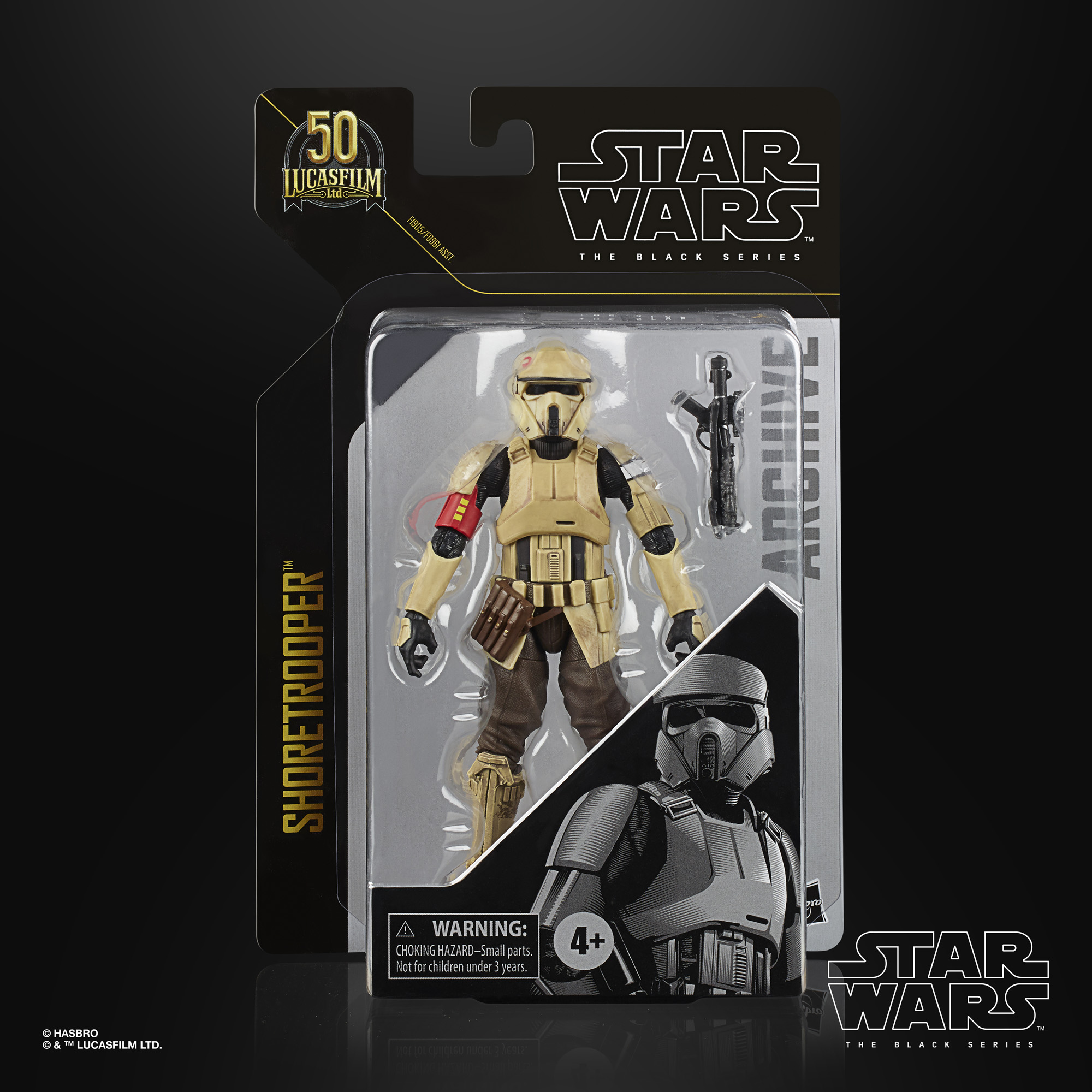 Star Wars The Black Series Archive Line Archive Shoretrooper 15cm F19055L00  5010993825387