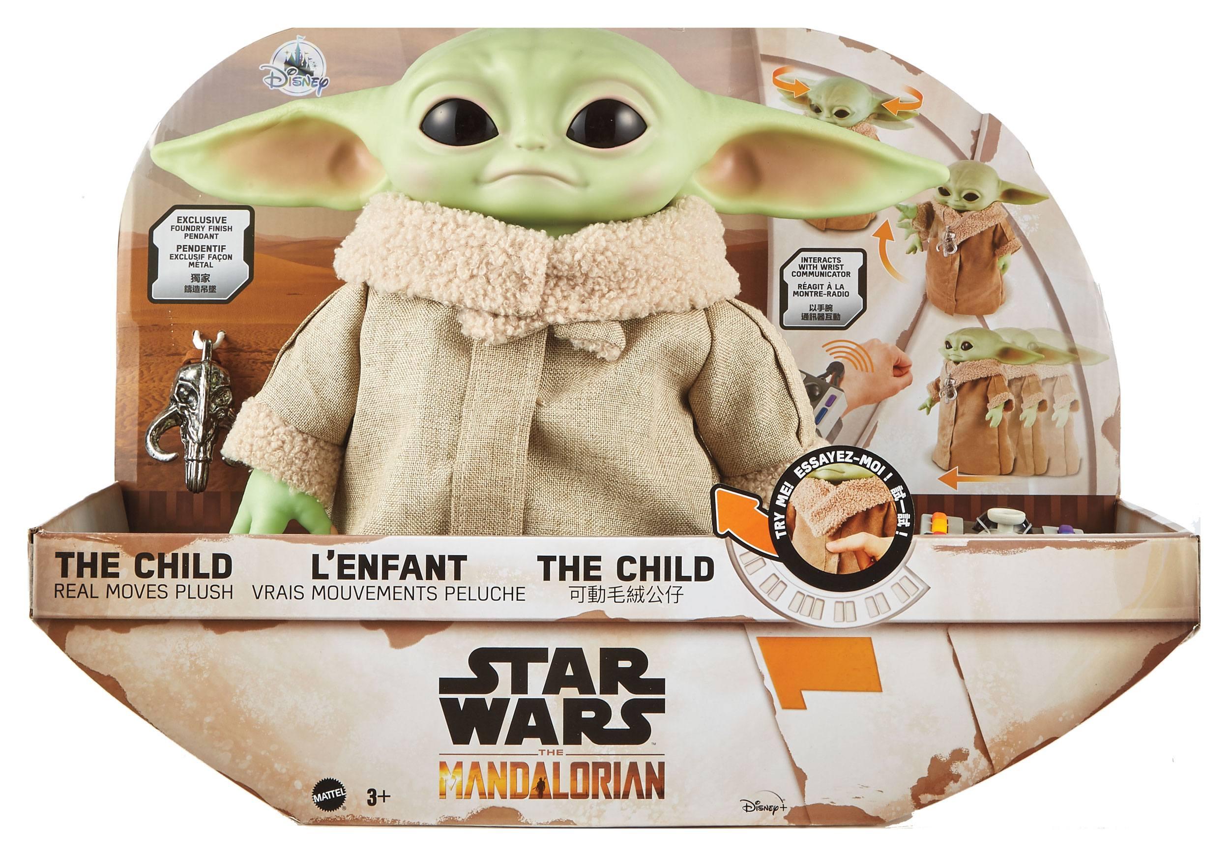 Star Wars The Mandalorian Elektronische Plüschfigur The Child 28 cm MATTGWD87 0887961938821
