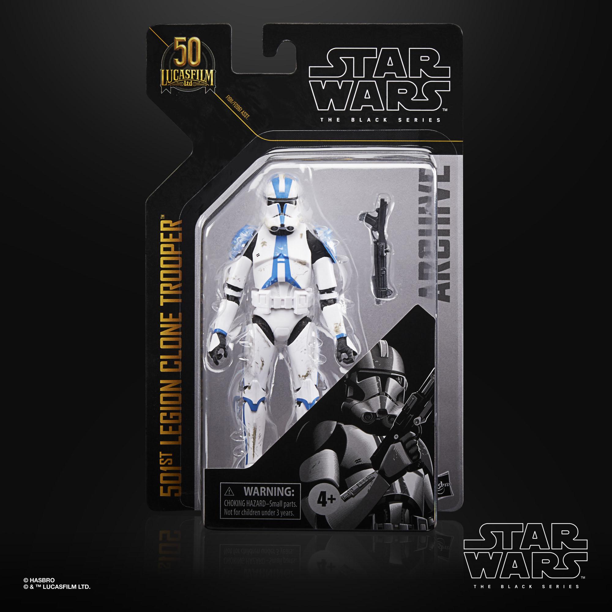 Star Wars The Black Series Archive 501st Legion Clone Trooper F19115X0 5010993831005