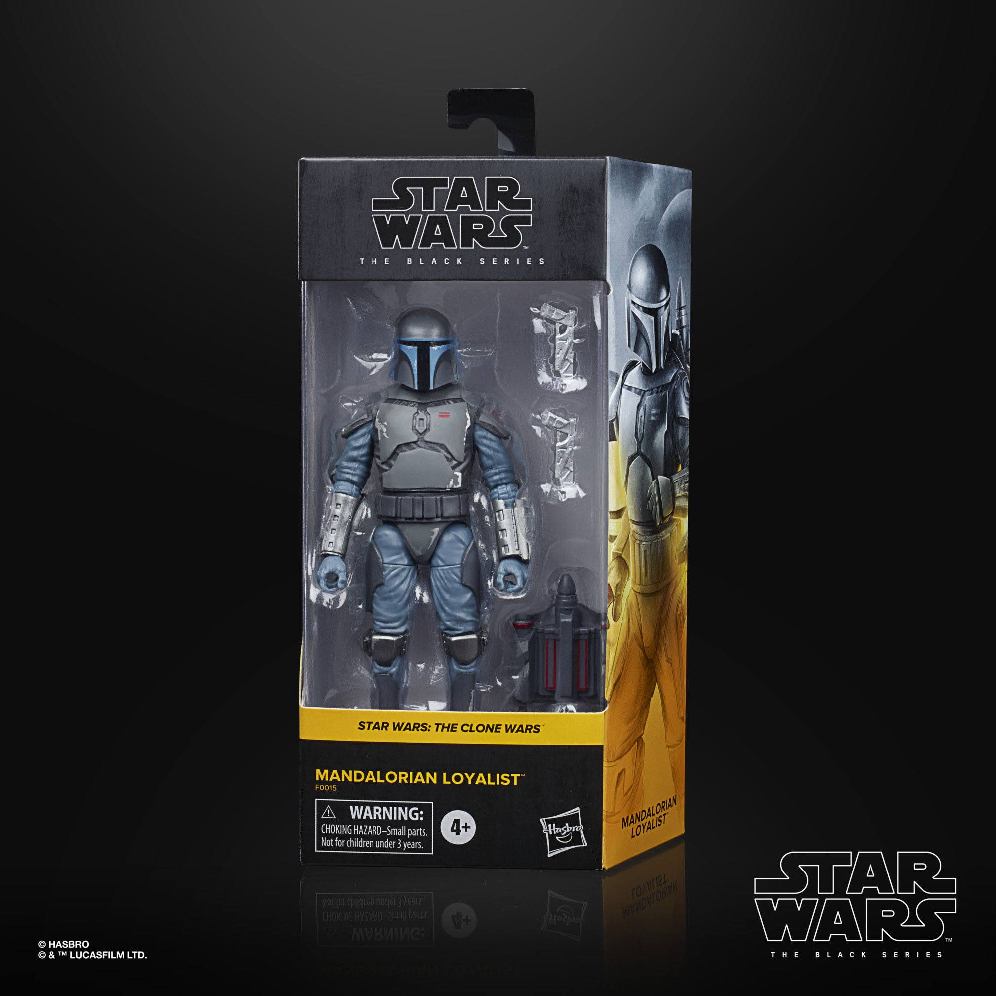 Star Wars The Clone Wars Black Series Actionfigur 2020 Mandolorian Loyalist 15 cm F0015 5010993750252