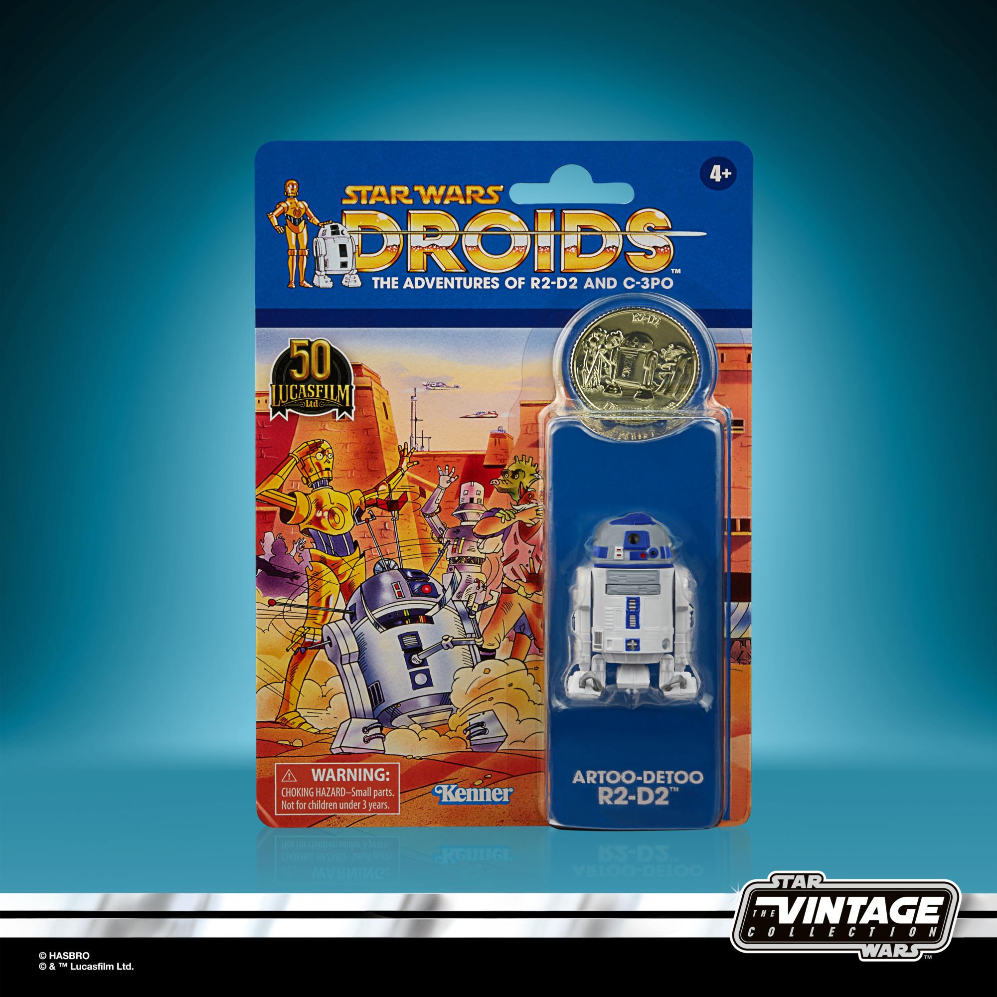 Star Wars: Droids Vintage Collection Actionfigur 2021 Artoo-Detoo (R2-D2) 10 cm F53105L00 5010993954407