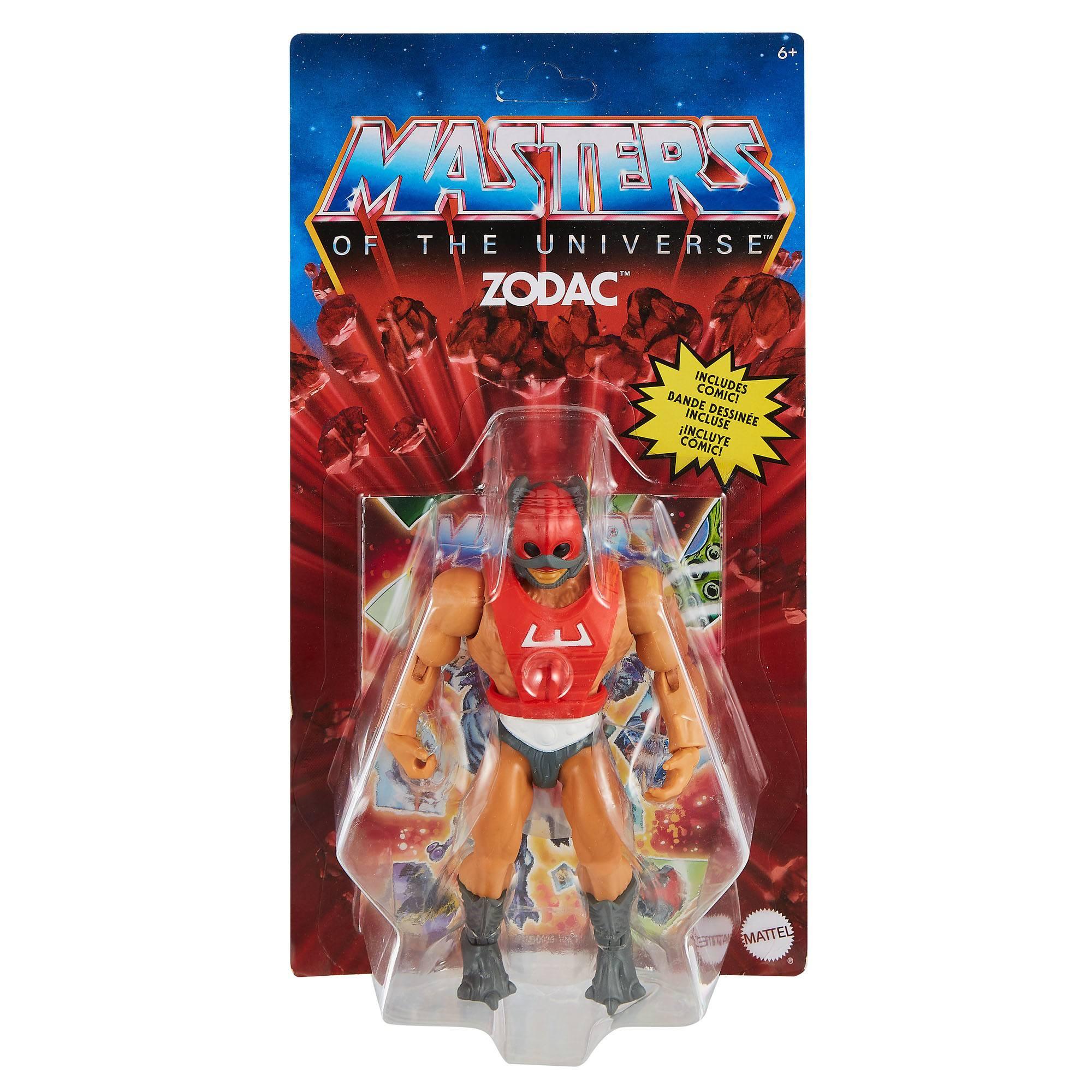 Masters of the Universe Origins Actionfigur 2021 Zodac 14 cm  MATTGVW63 887961934175