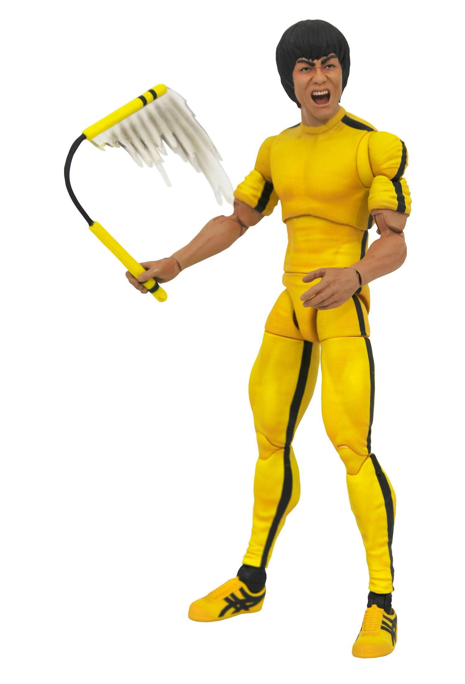 Bruce Lee Select Actionfigur Yellow Jumpsuit 18 cm DIAMMAR192442 699788833513
