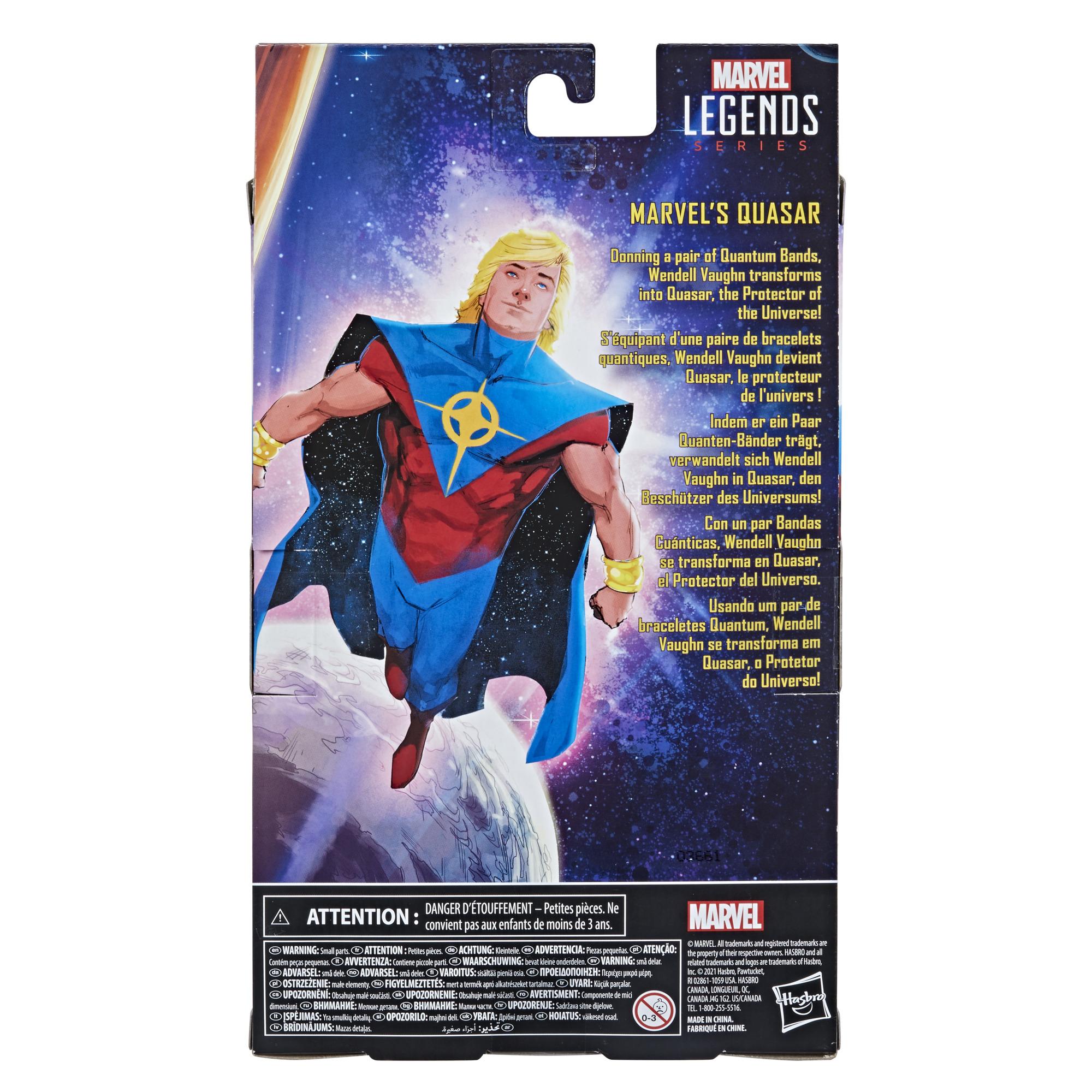 Hasbro Marvel Legends Series Quasar F02235L00 5010993800858