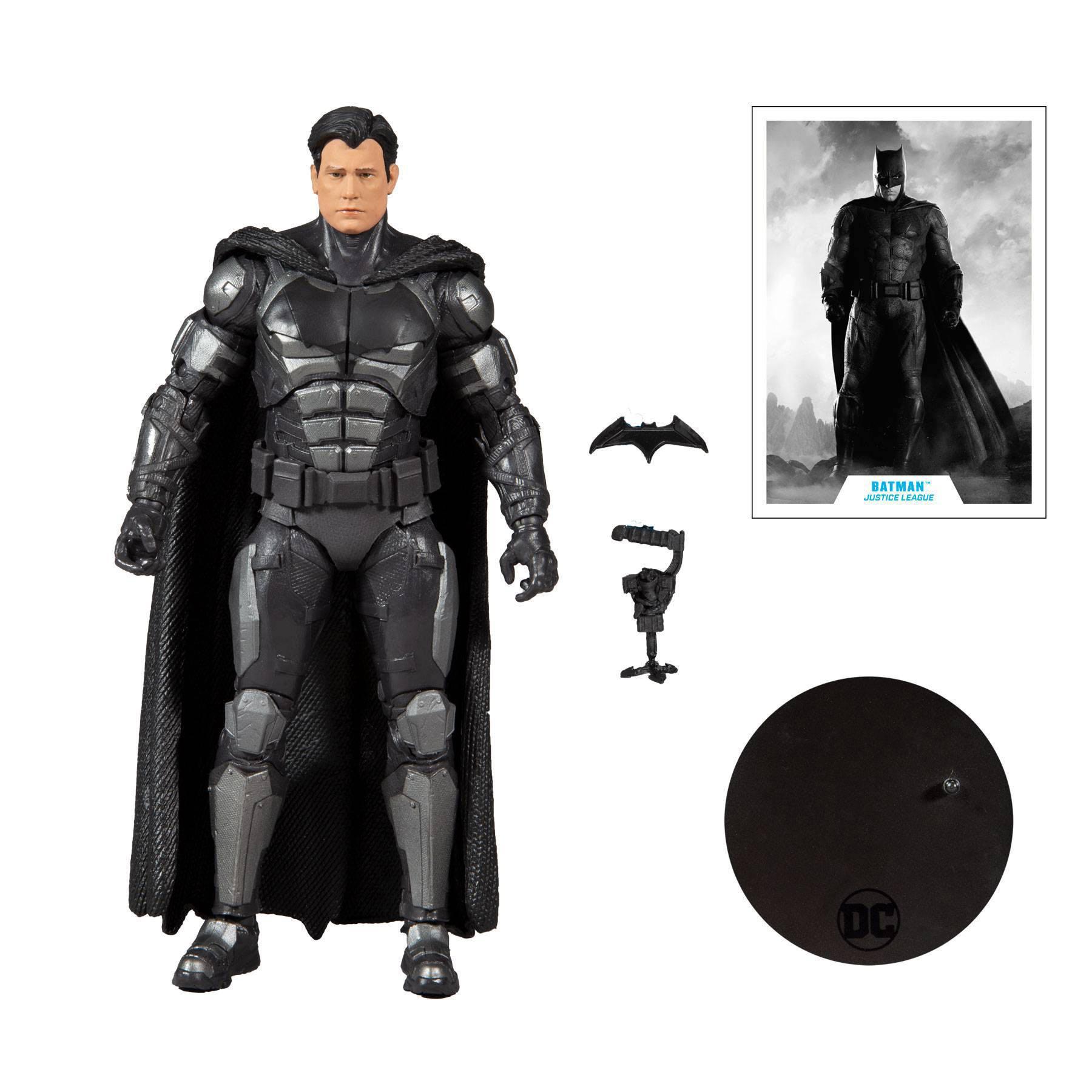 DC Justice League Movie Actionfigur Batman (Bruce Wayne) 18 cm MCF15096-4 787926150964