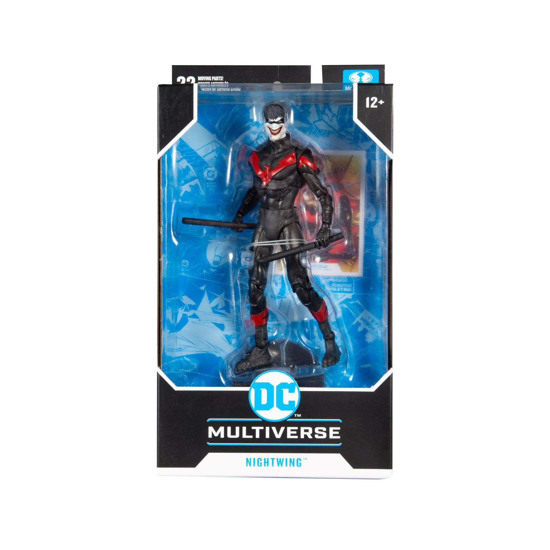 DC Multiverse Actionfigur Nightwing Joker 18 cm MCF15139-8 787926151398