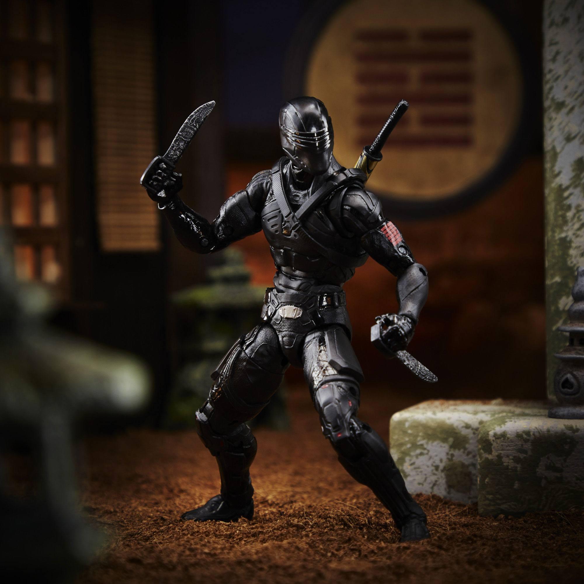 G.I. Joe Classified Series Actionfigur 15 cm Snake Eyes (Movie) E8515  5010993738373