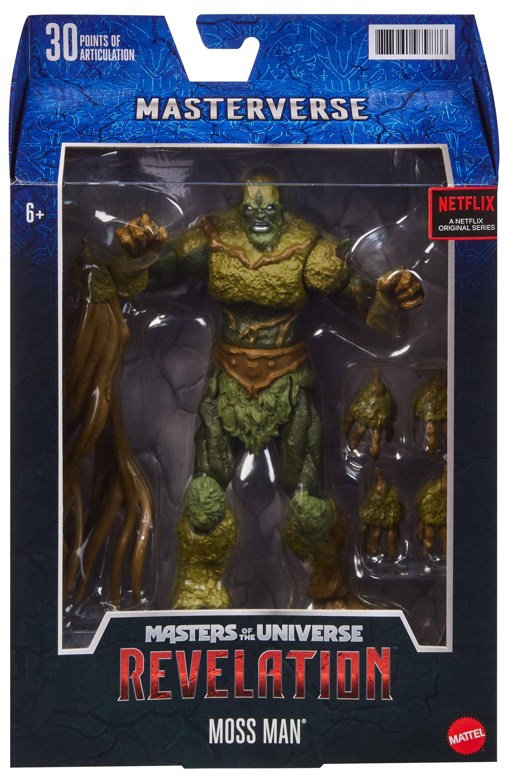 Masters of the Universe: Revelation Masterverse Actionfigur 2021 Moss Man 18 cm MATTGYV11 0887961979886