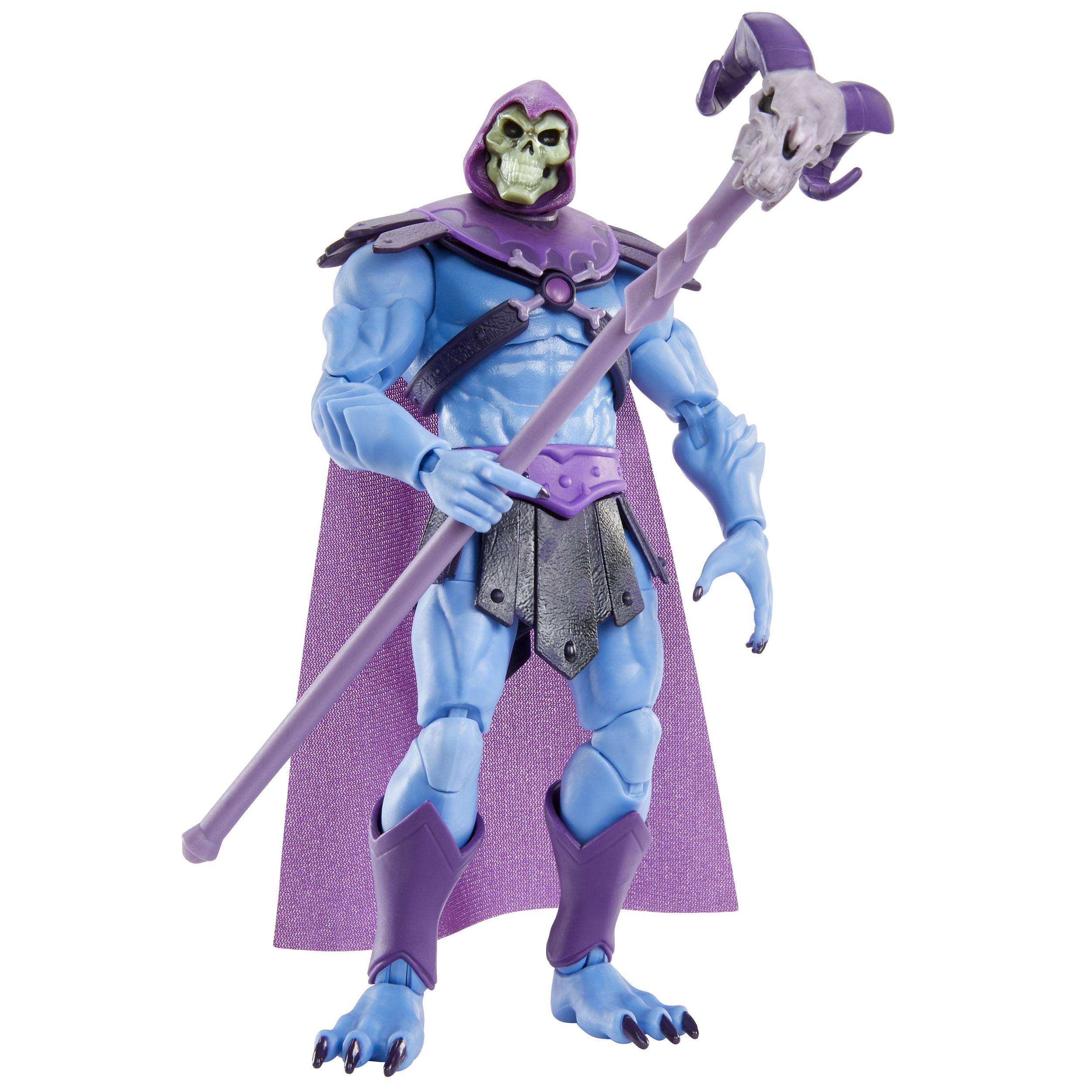 IMPORT !!! Masters of the Universe: Revelation Masterverse Actionfigur 2021 Skeletor 18 cm MATTGYV10 0887961979879