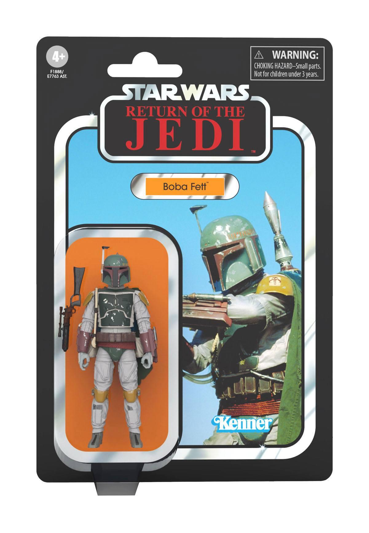 2. Version mit geändertem Brustpanzer Star Wars The Vintage Collection Boba Fett ROTJ F18885L00
