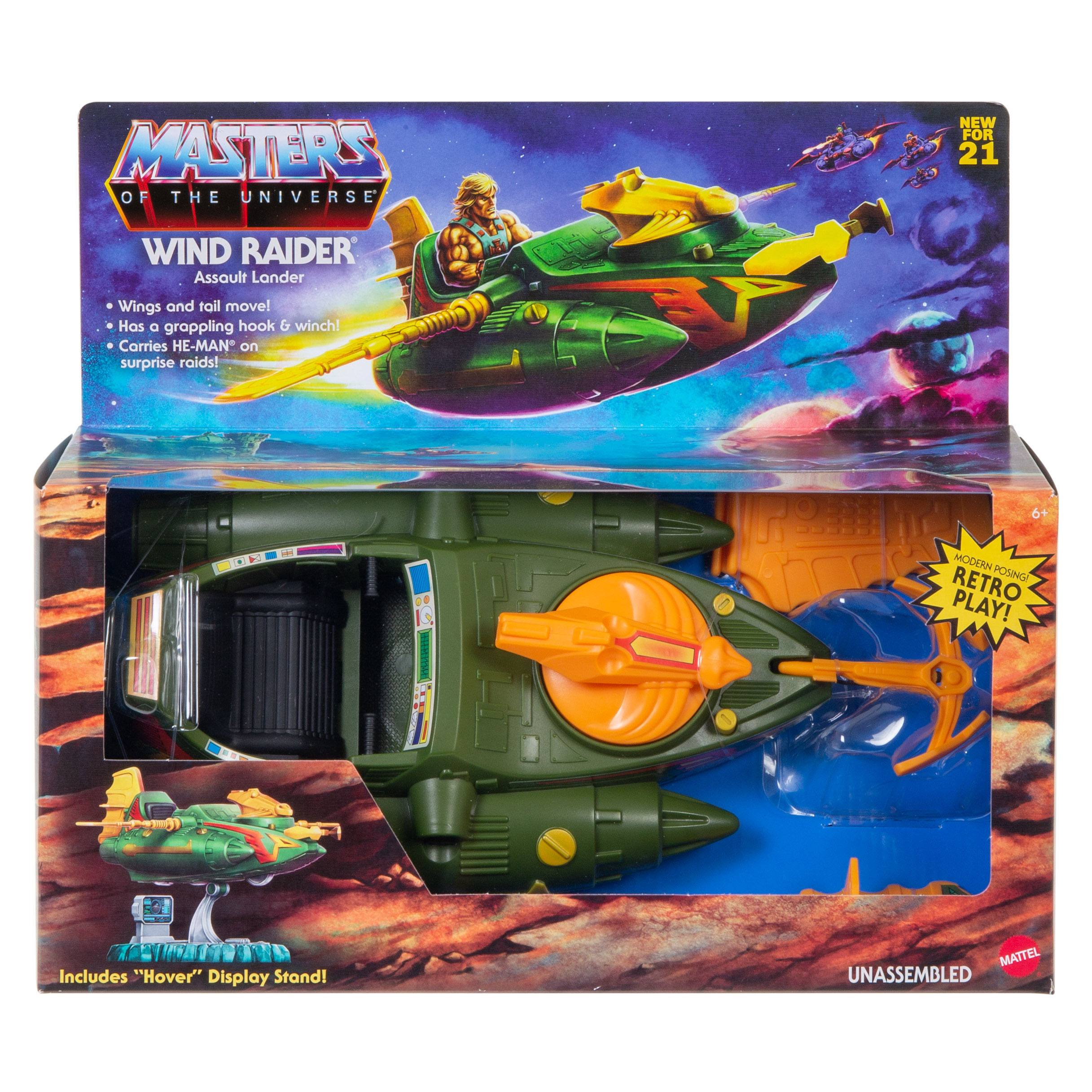 Masters of the Universe Origins Fahrzeug 2021 Wind Raider 32 cm MATTGYY34 0887961982886