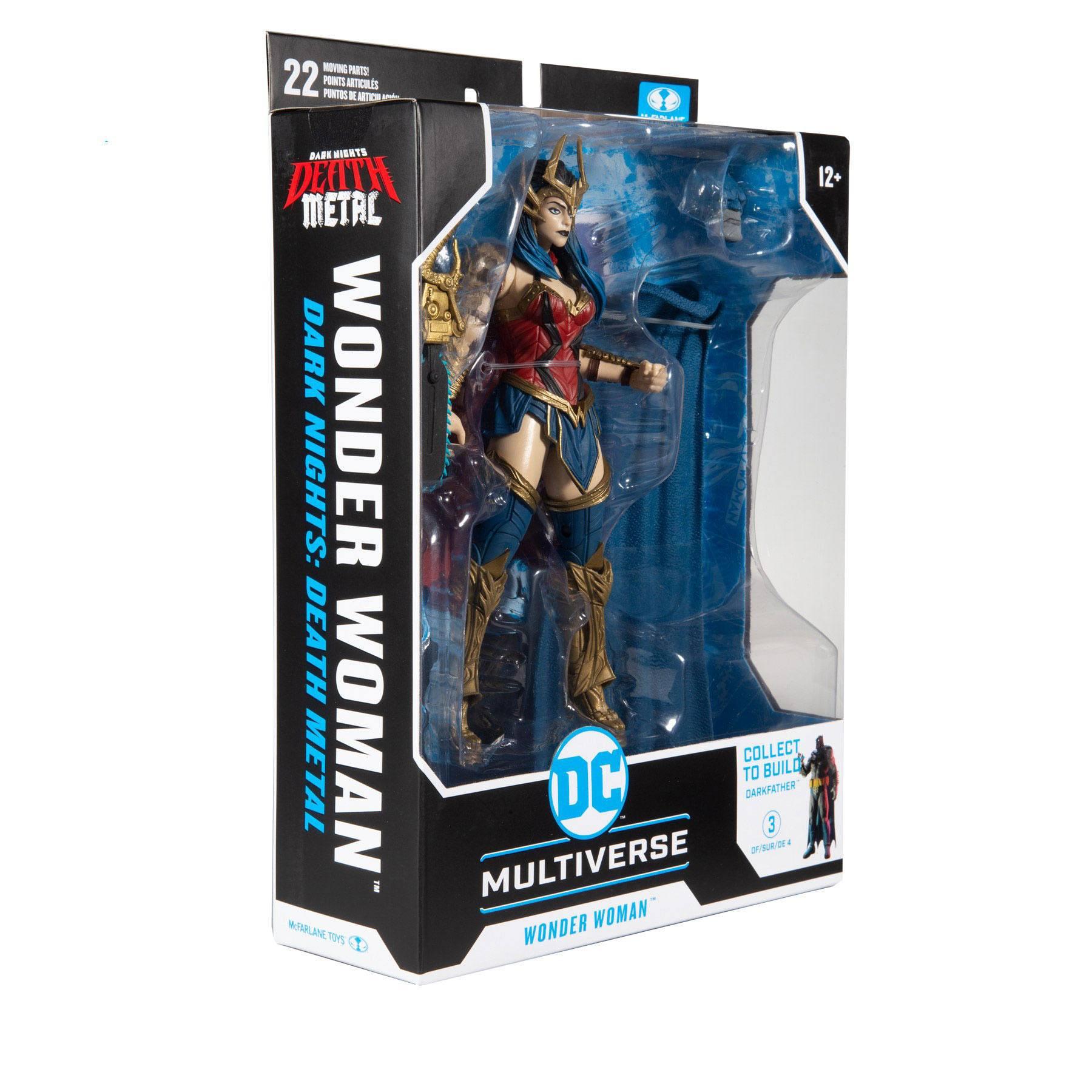 DC Multiverse Build A Actionfigur Wonder Woman 18 cm MCF15418-4 787926154184