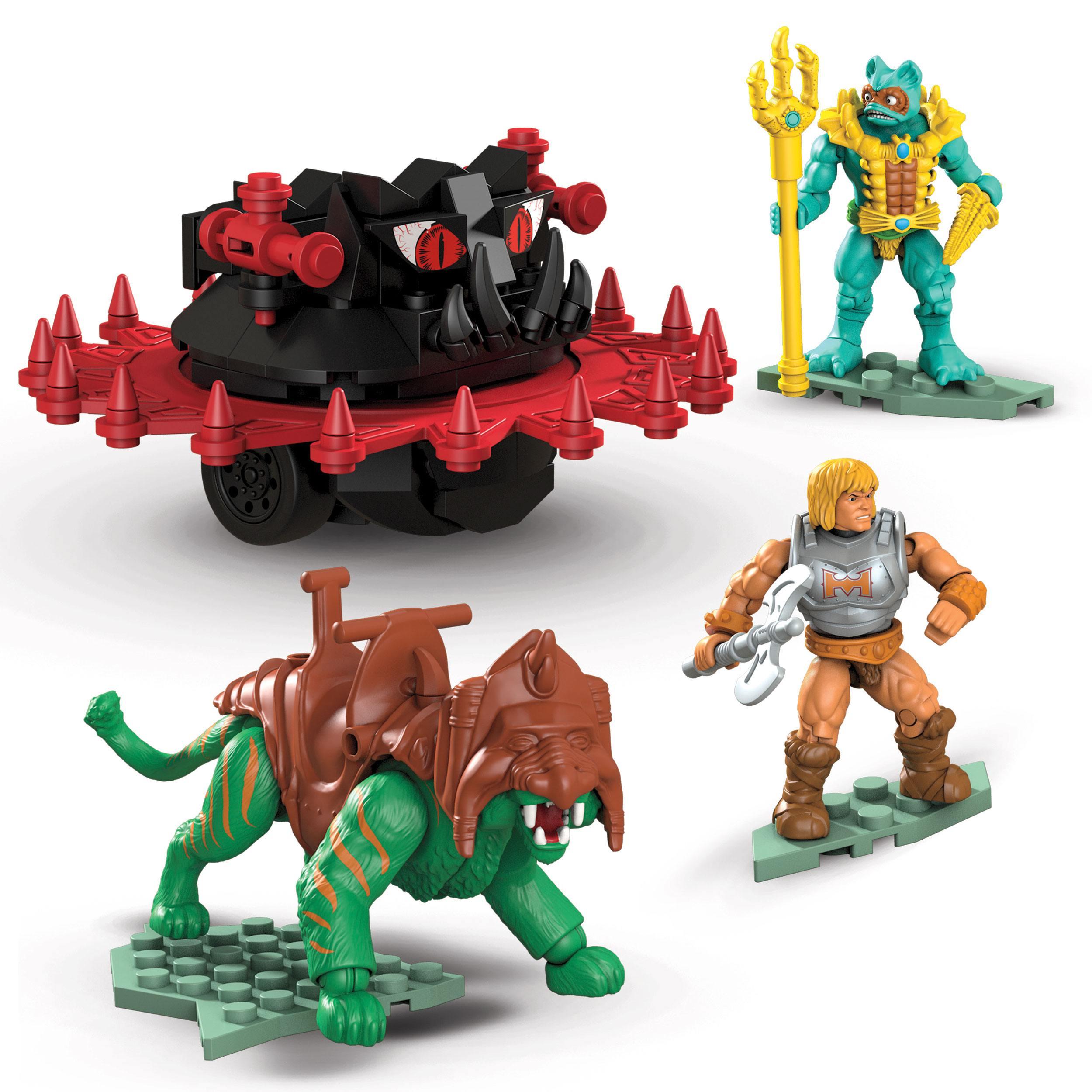 Masters of the Universe Mega Construx Probuilders Bauset Battle Cat vs. Roton MATTGPH23 887961886986