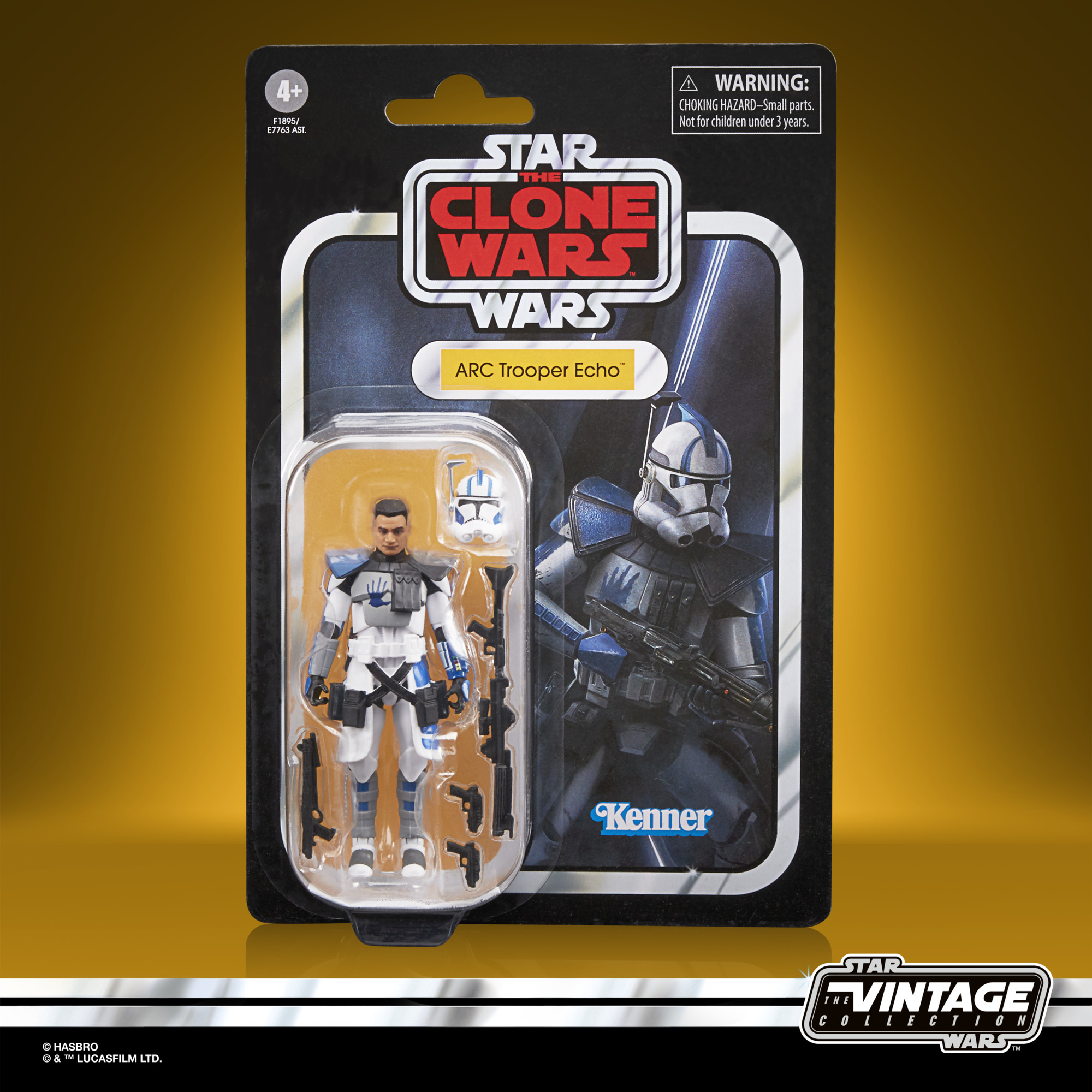 Star Wars The Vintage Collection ARC Trooper Echo F1895 5010993834396