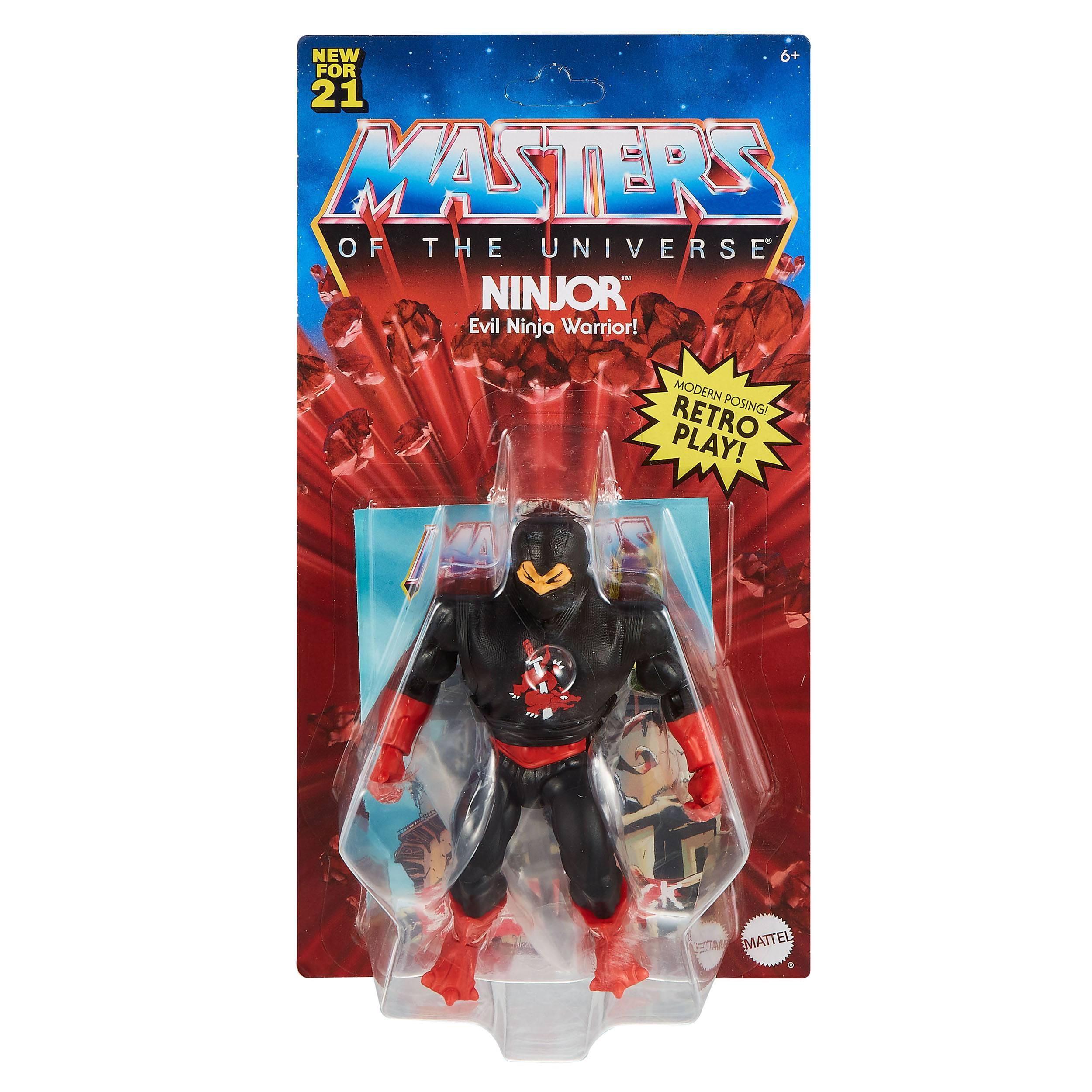 Masters of the Universe Origins Actionfigur 2021 Ninjor 14 cm (EU Karte) MATTGVW66 887961934151