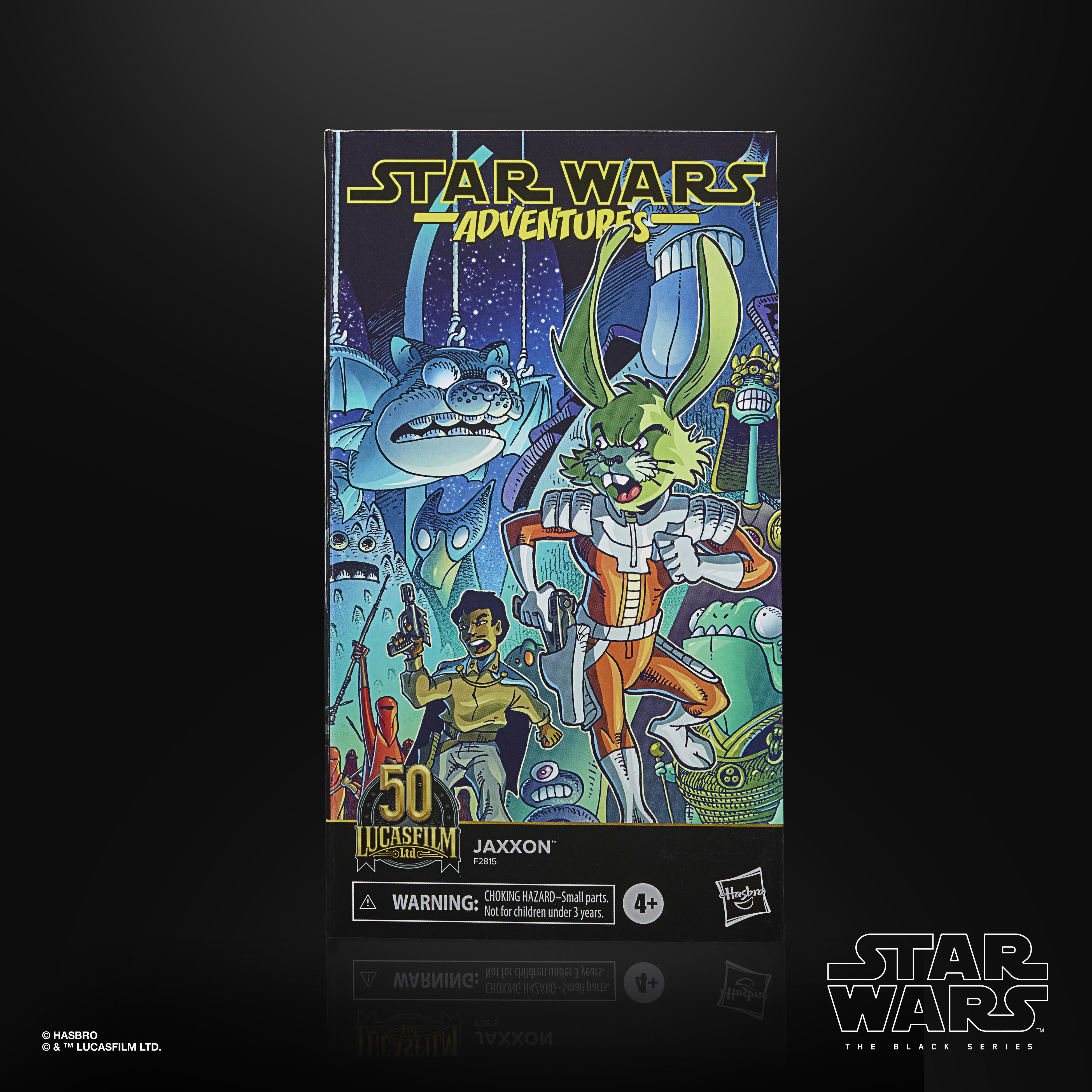 Star Wars The Black Series Jaxxon LUCASFILM 50TH ANNIVERSARY FIGURE F28155L0