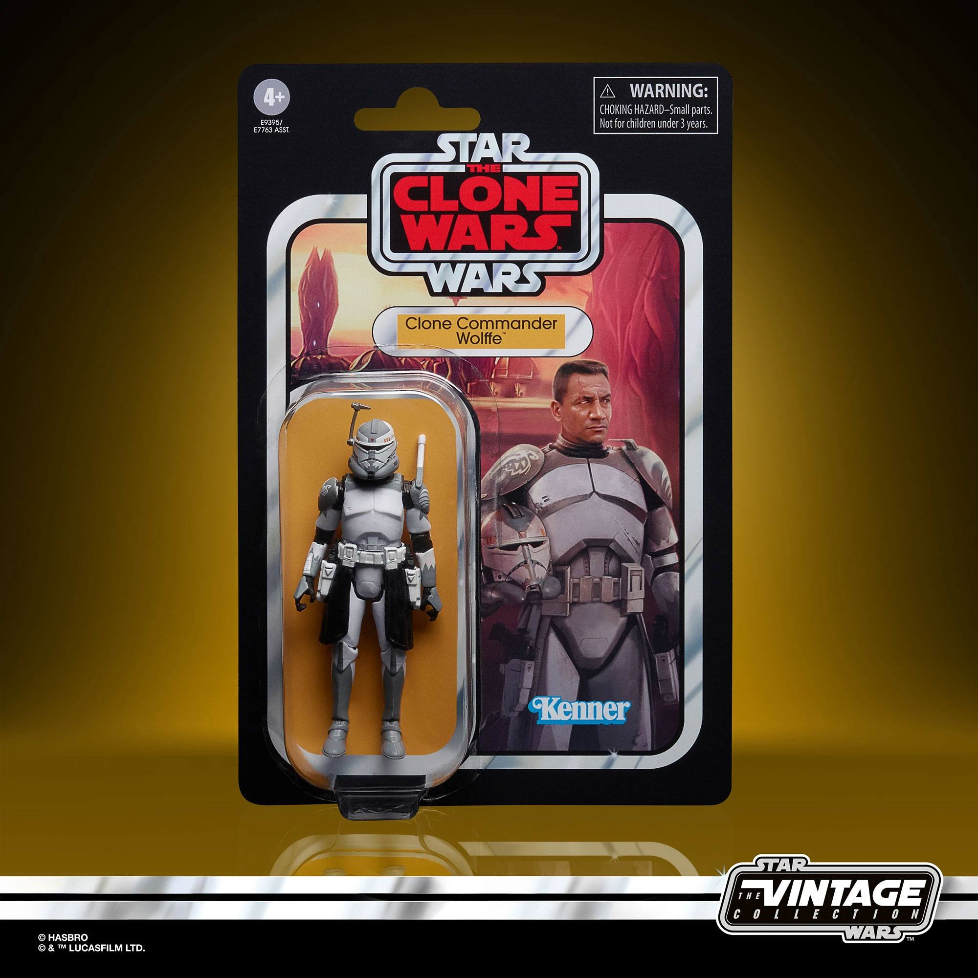 Star Wars The Vintage Collection Clone Commander Wolffe E9395 5010993736867