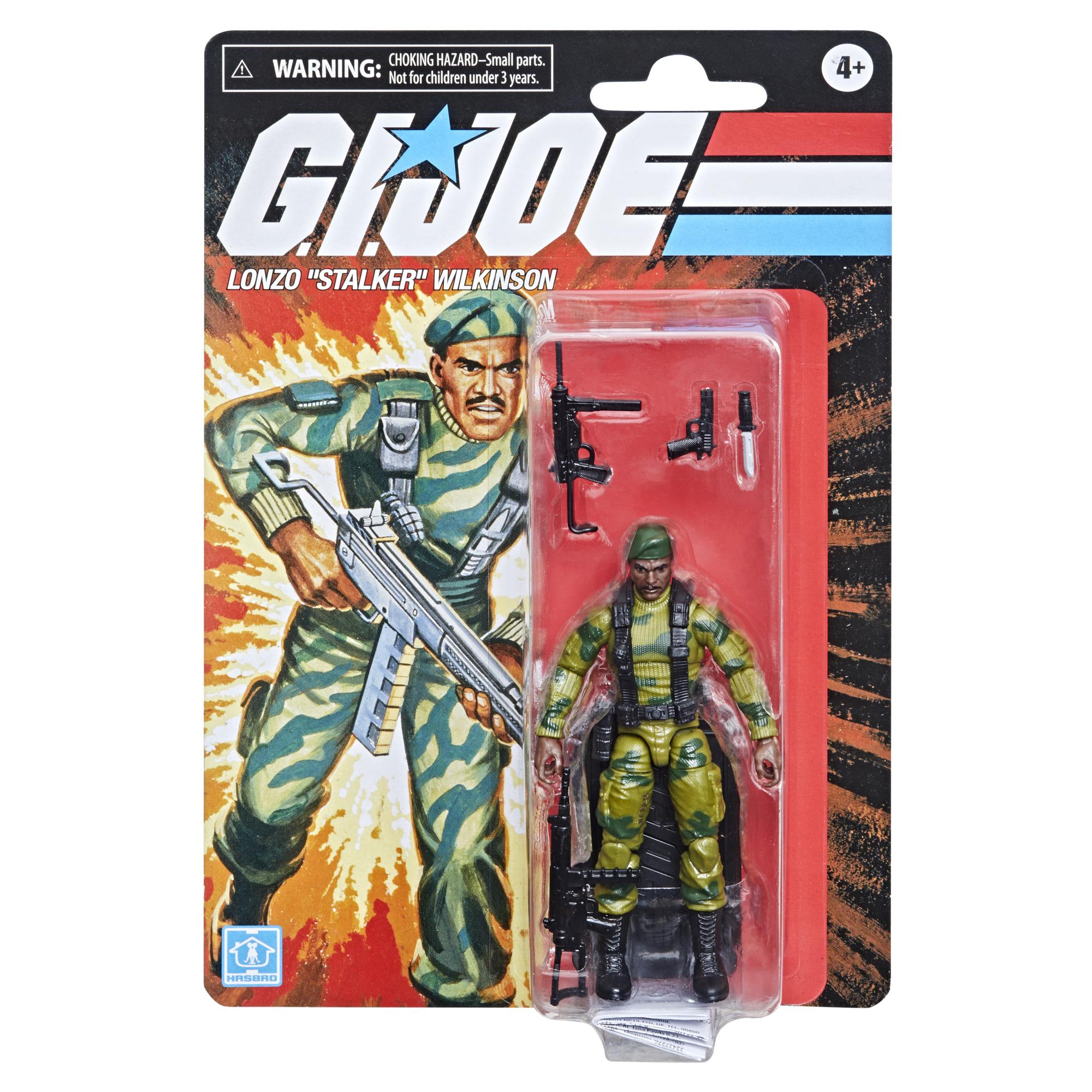 "G.I. Joe RETRO Series Action Figure Lonzo ""Stalker"" Wilkinson 9,5 cm  F22355L00"