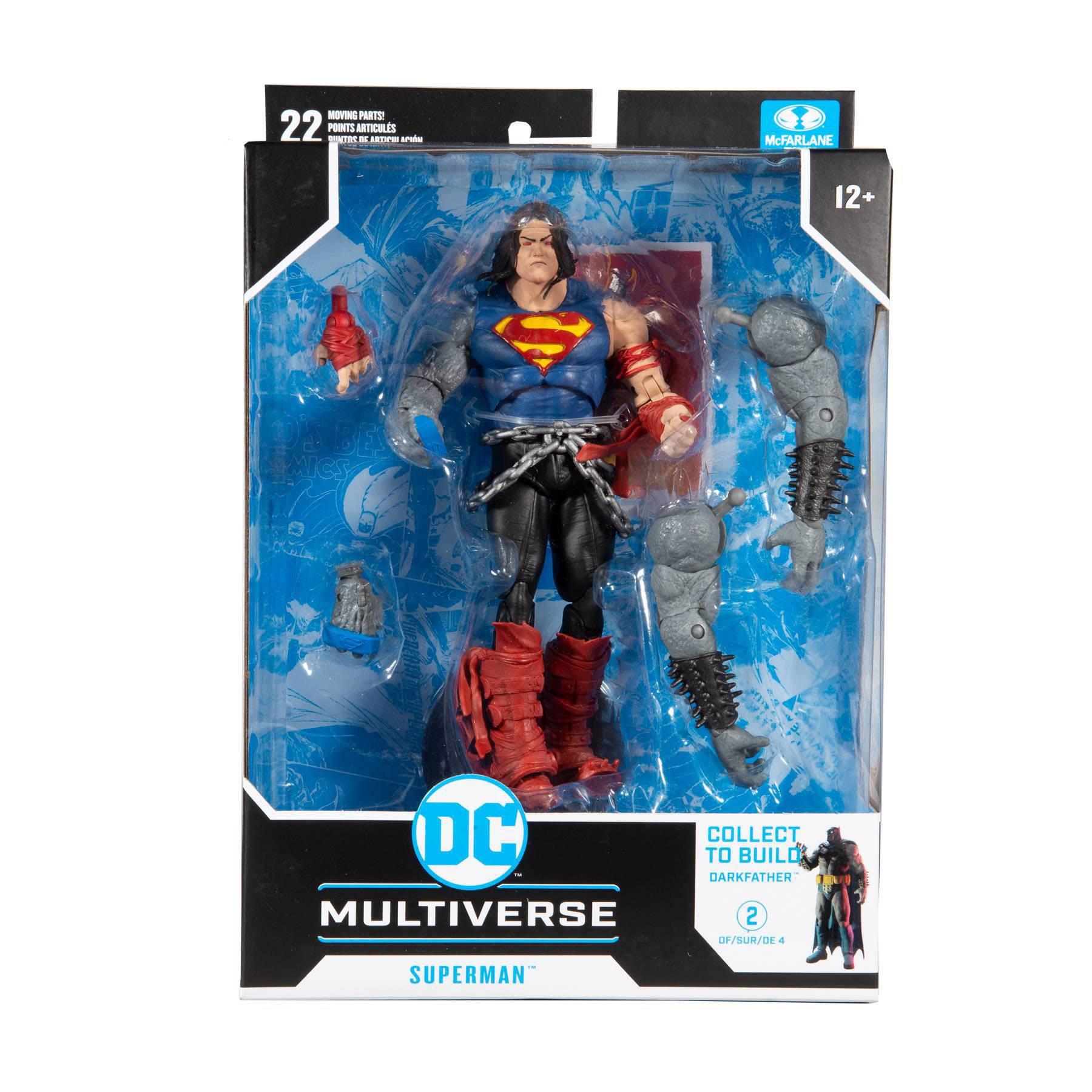 DC Multiverse Build A Actionfigur Superman 18 cm MCF15417-7 787926154177