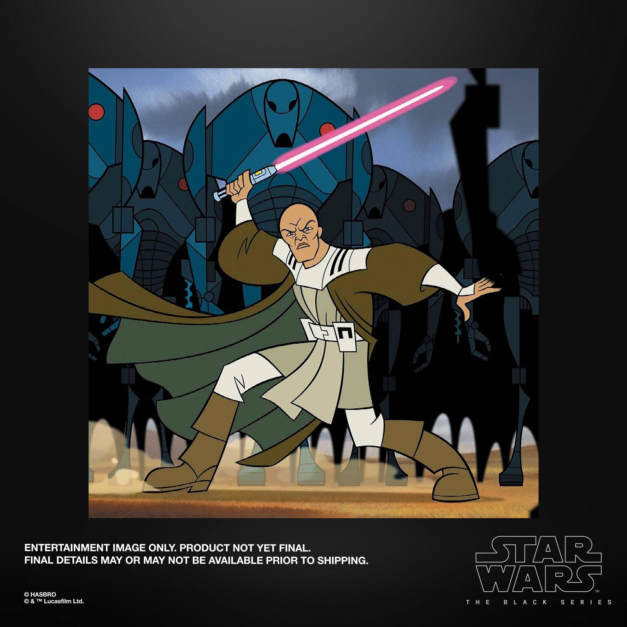 Star Wars The Clone Wars Black Series Actionfigur 2022 Mace Windu 15 cm F53005L00 5010993937660