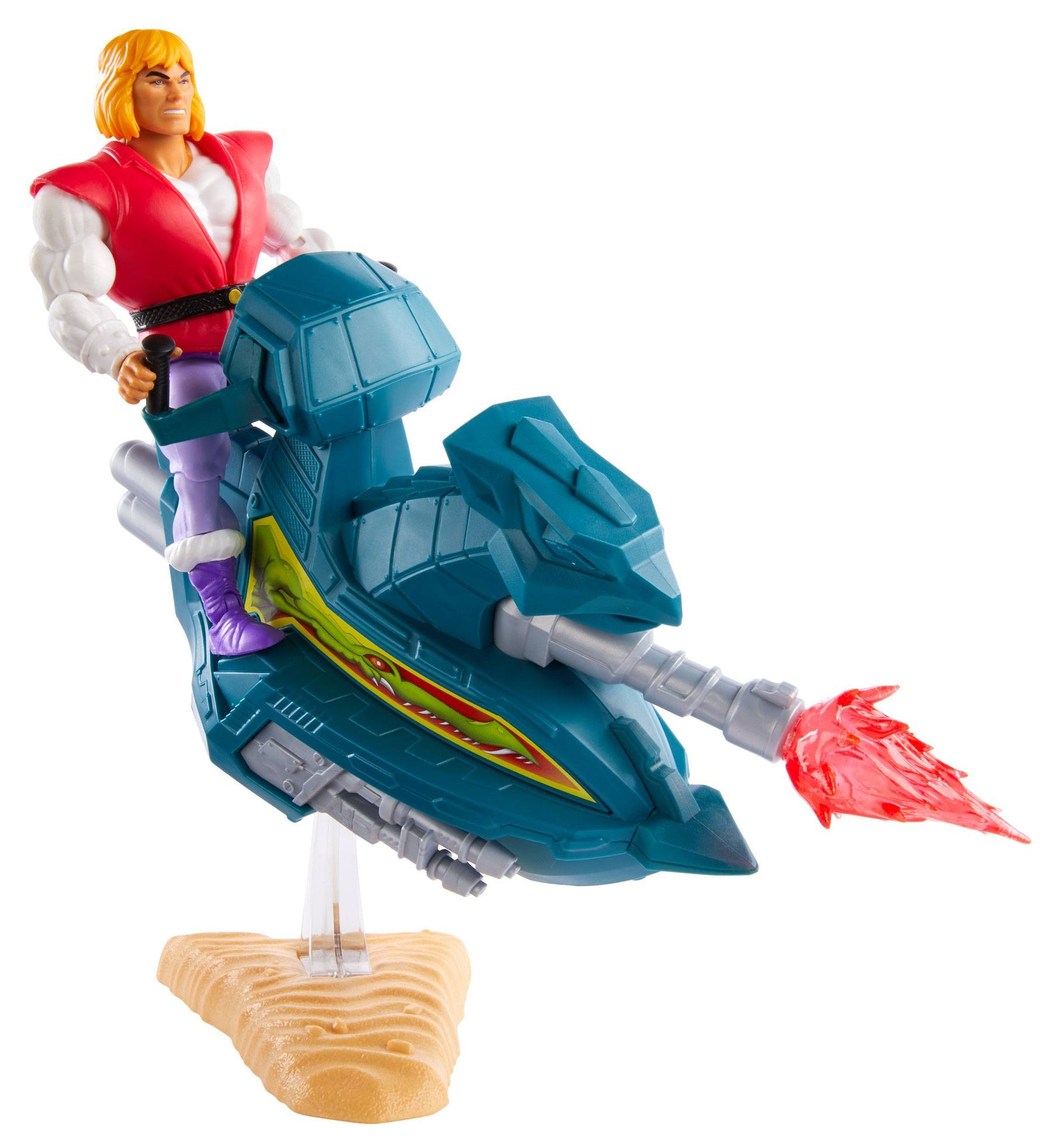 Masters of the Universe Origins Actionfigur 2020 Prince Adam with Sky Sled 14 cm