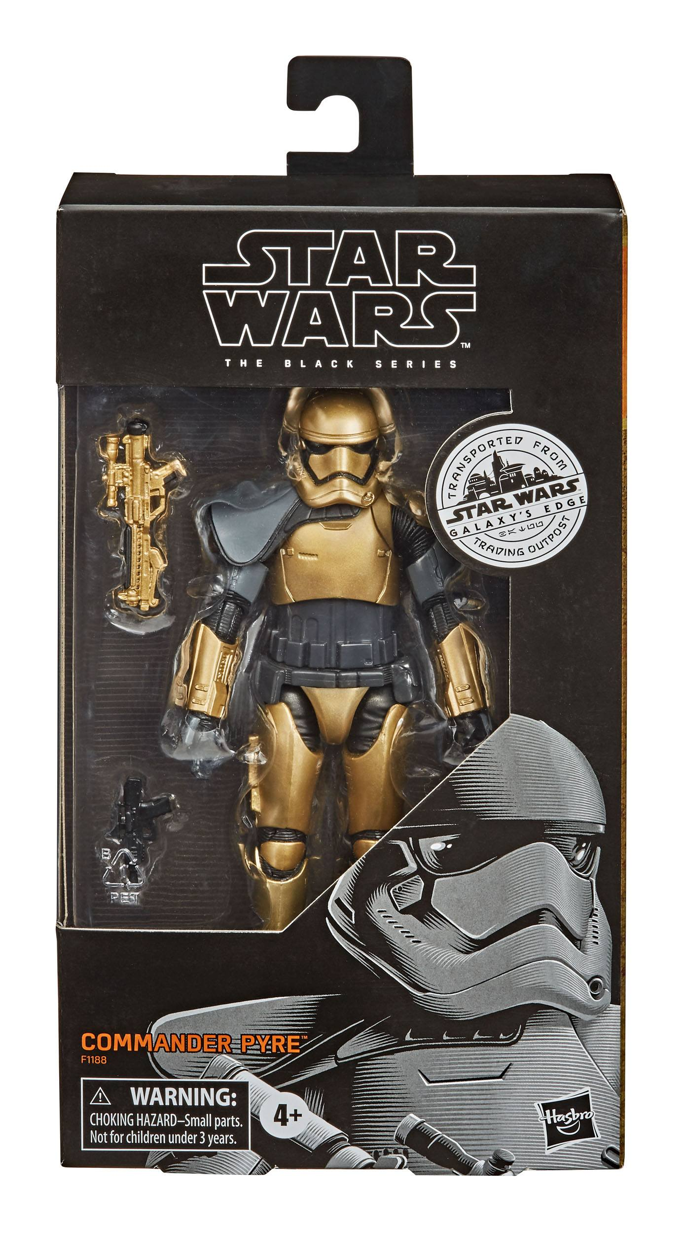 Star Wars Galaxy's Edge Black Series Commander Pyre 15 cm HASF1188 5010993773138