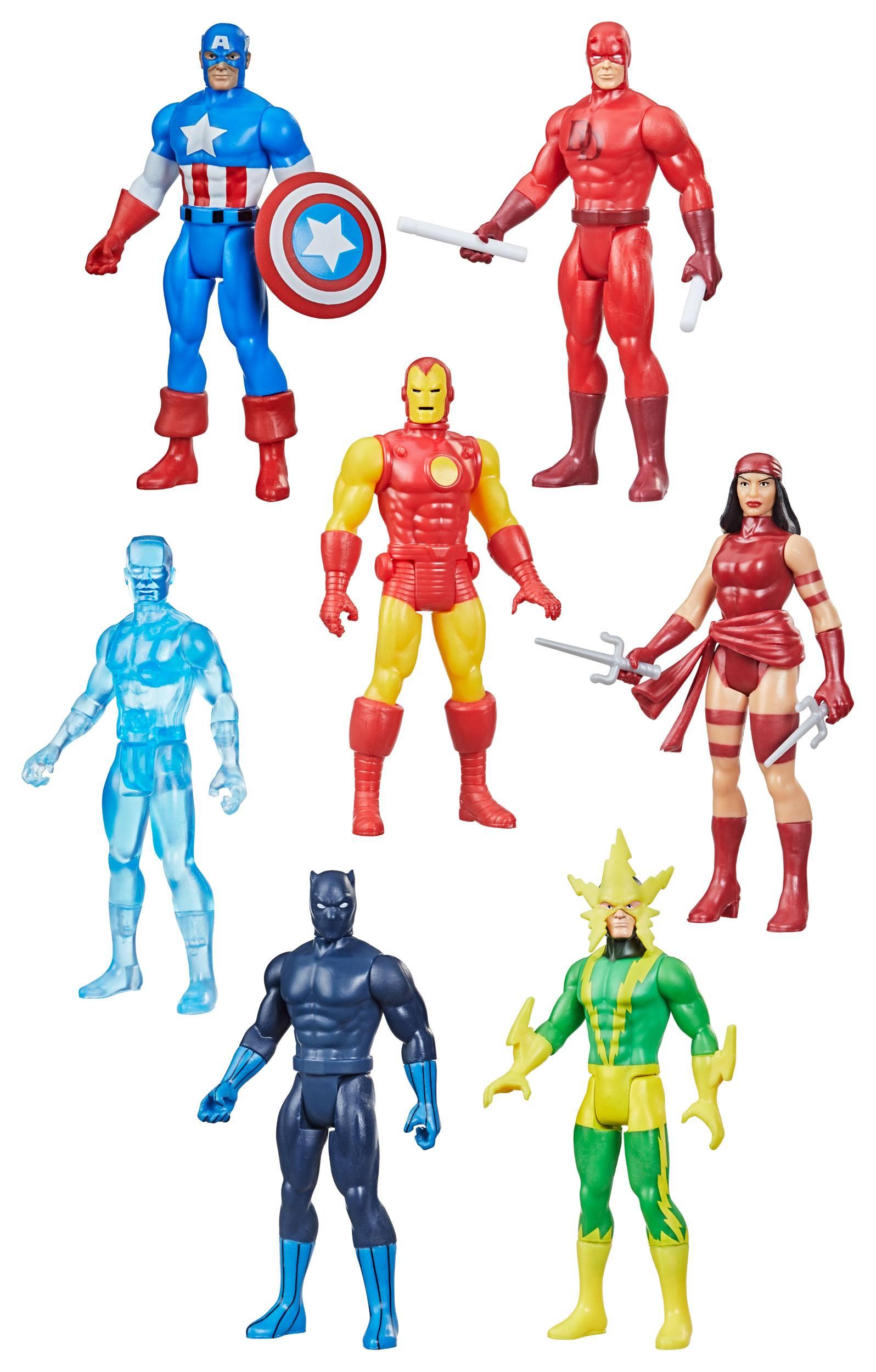 Hasbro Marvel Legends 3.75-inch Retro 375 Collection Assortment (7) Wave 2 F26485L01 5010993842766