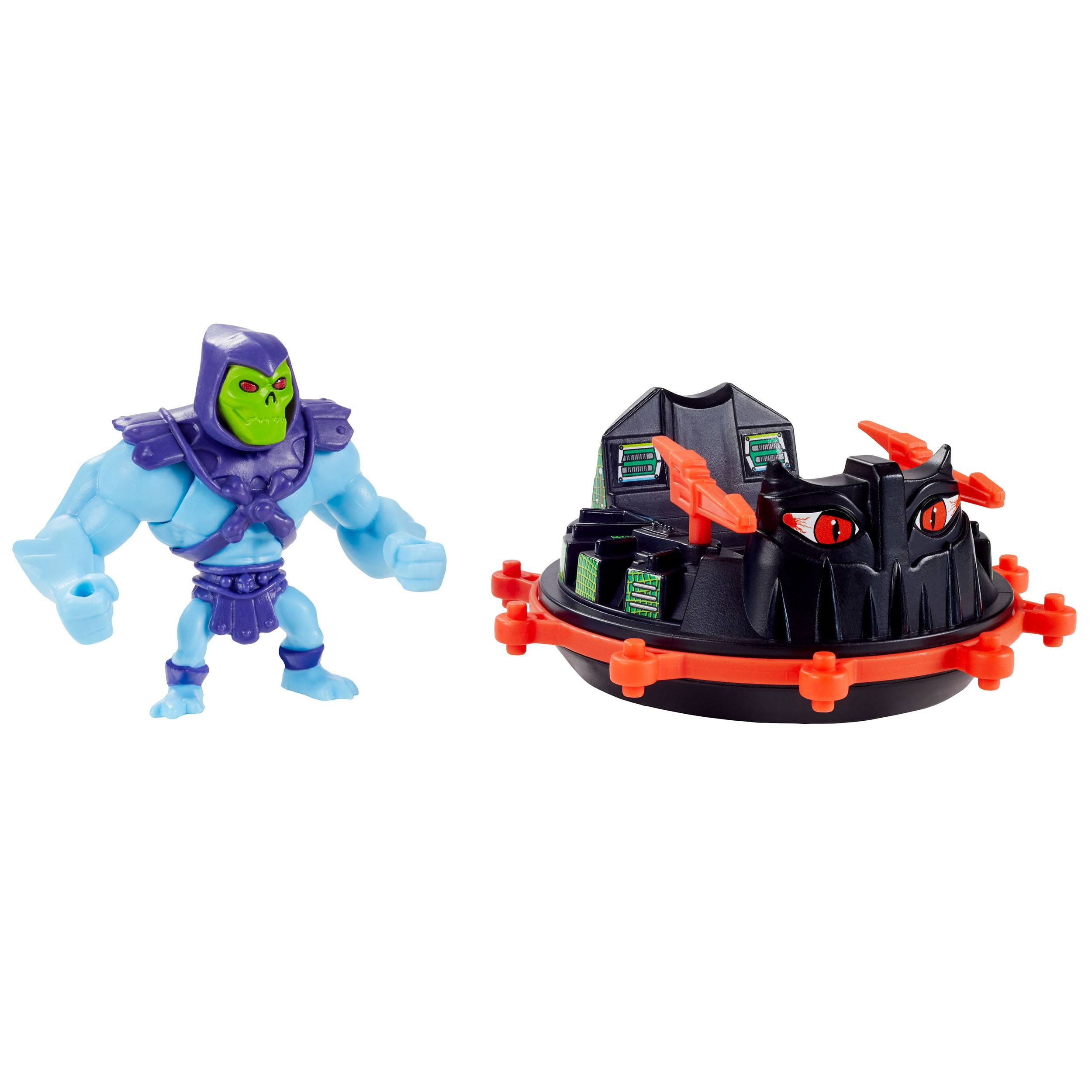 Masters of the Universe Eternia Minis Skeletor and Roton GXP38 887961960198