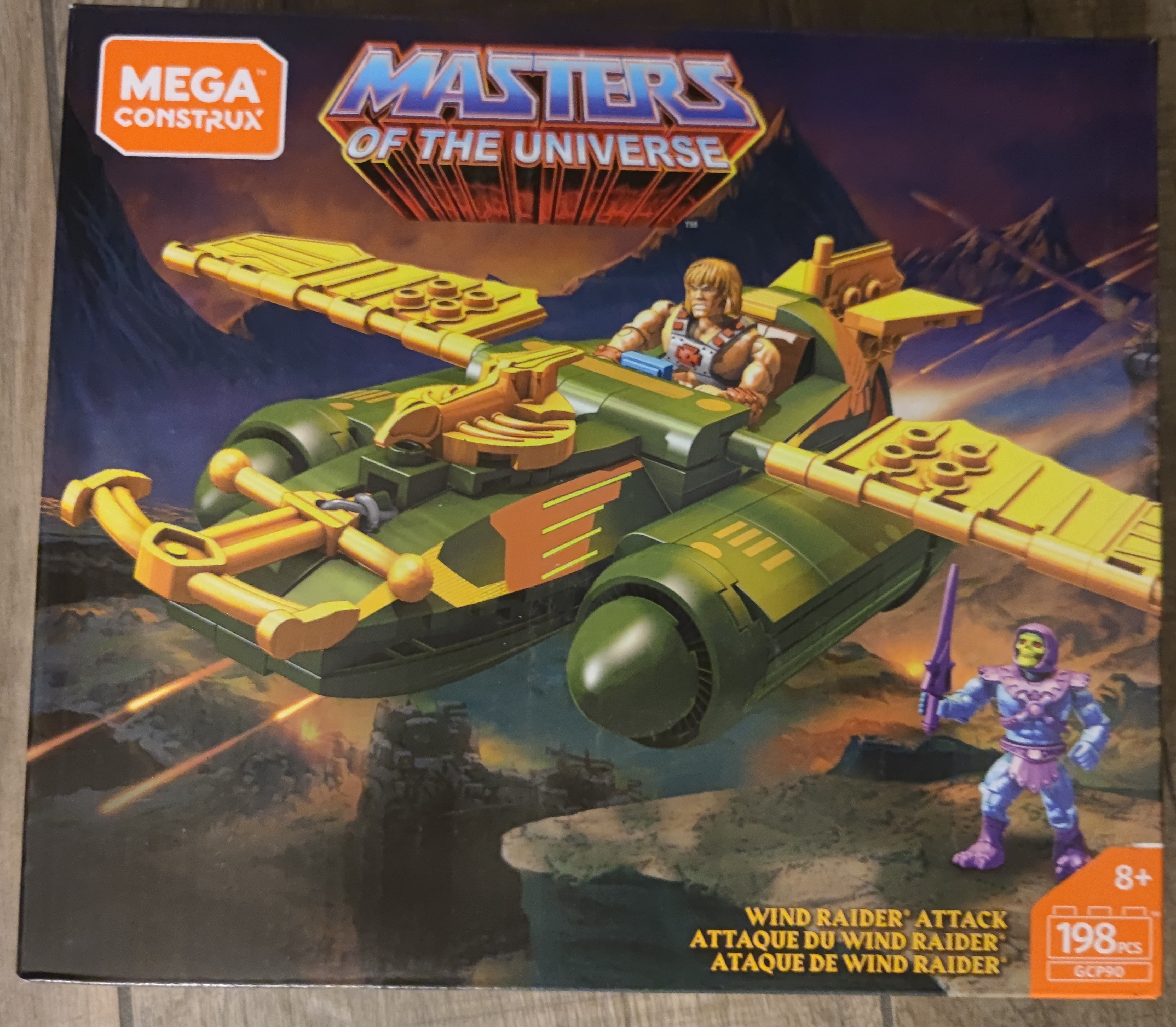 Masters of the Universe Mega Construxx Wind Raider GCP90 887961732764