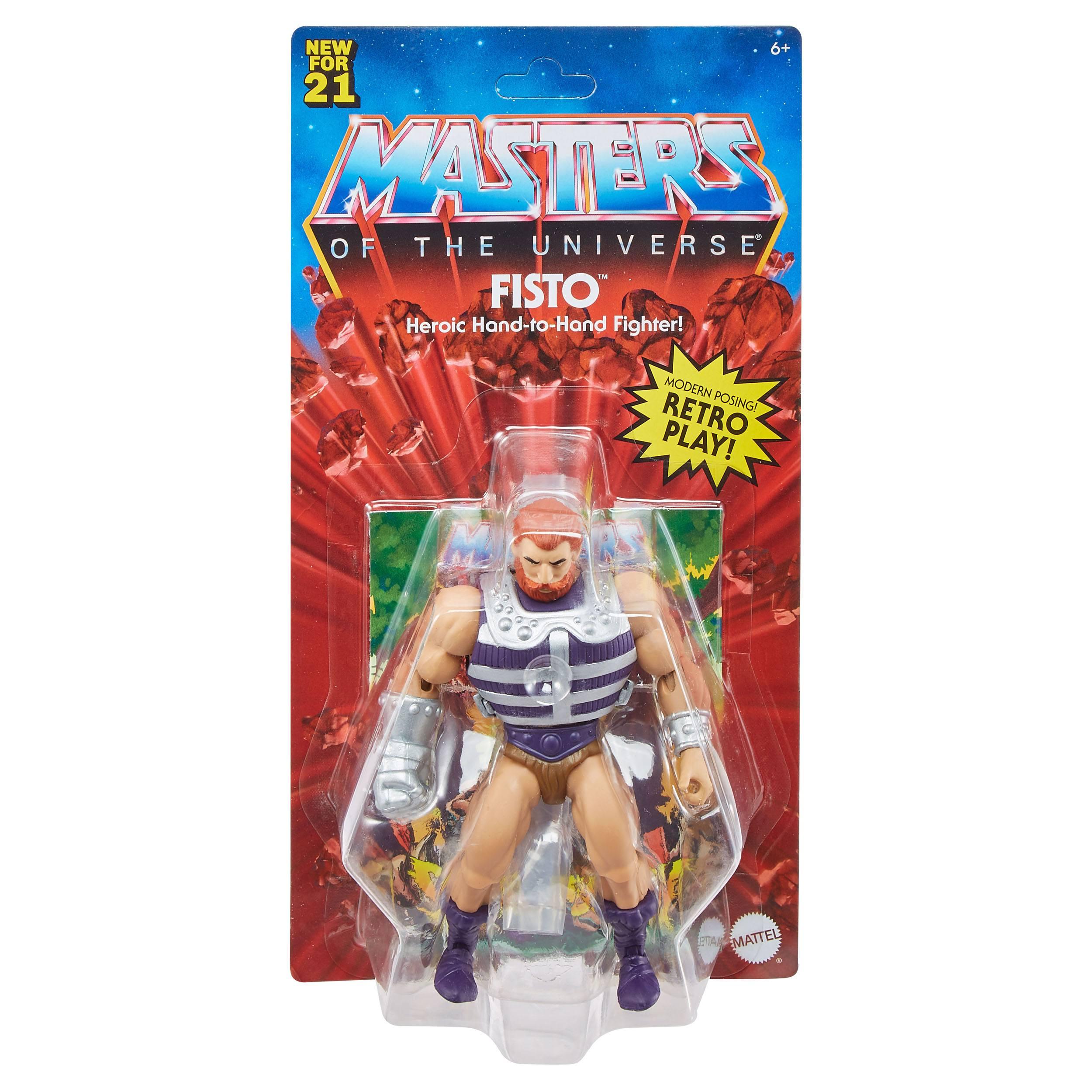 Masters of the Universe Origins Actionfigur 2021 Fisto 14 cm (EU Karte) GYY25 887961982756
