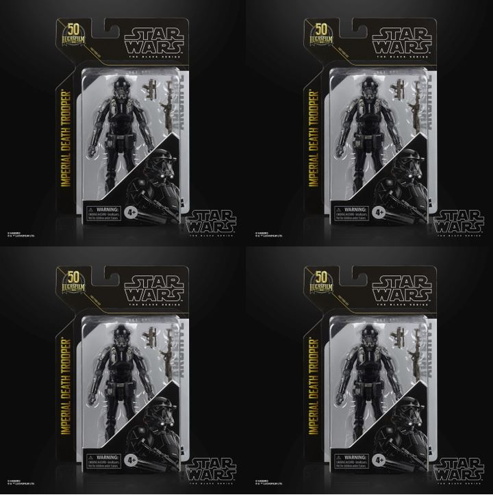 4-Pack Star Wars The Black Series Archive Line Archive Imperial Death Trooper 15cm F19075L00 5010993825417