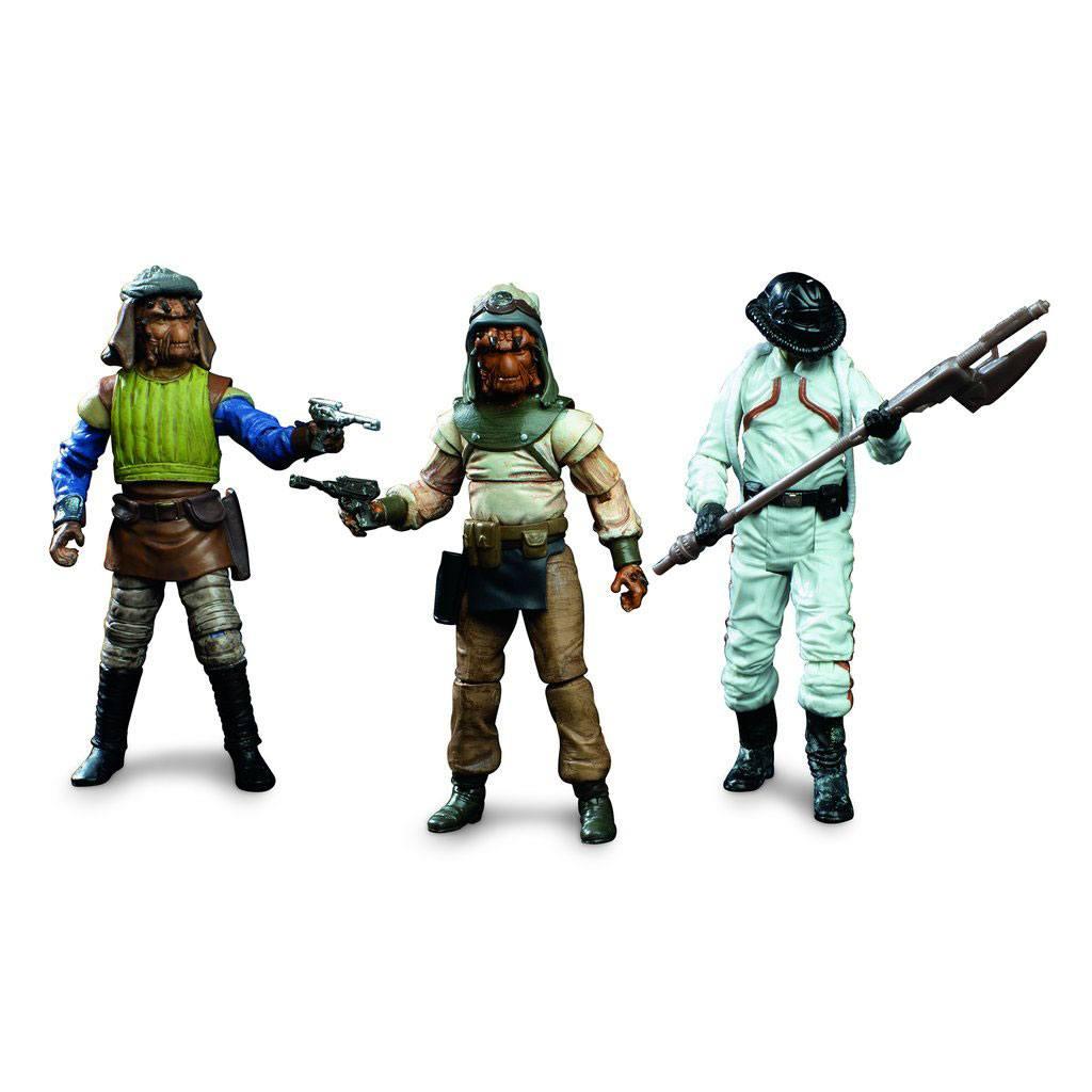 Star Wars Episode VI Vintage Collection Actionfiguren 3er-Pack Skiff Guard Exclusive 10 cm HASE6136 630509852826