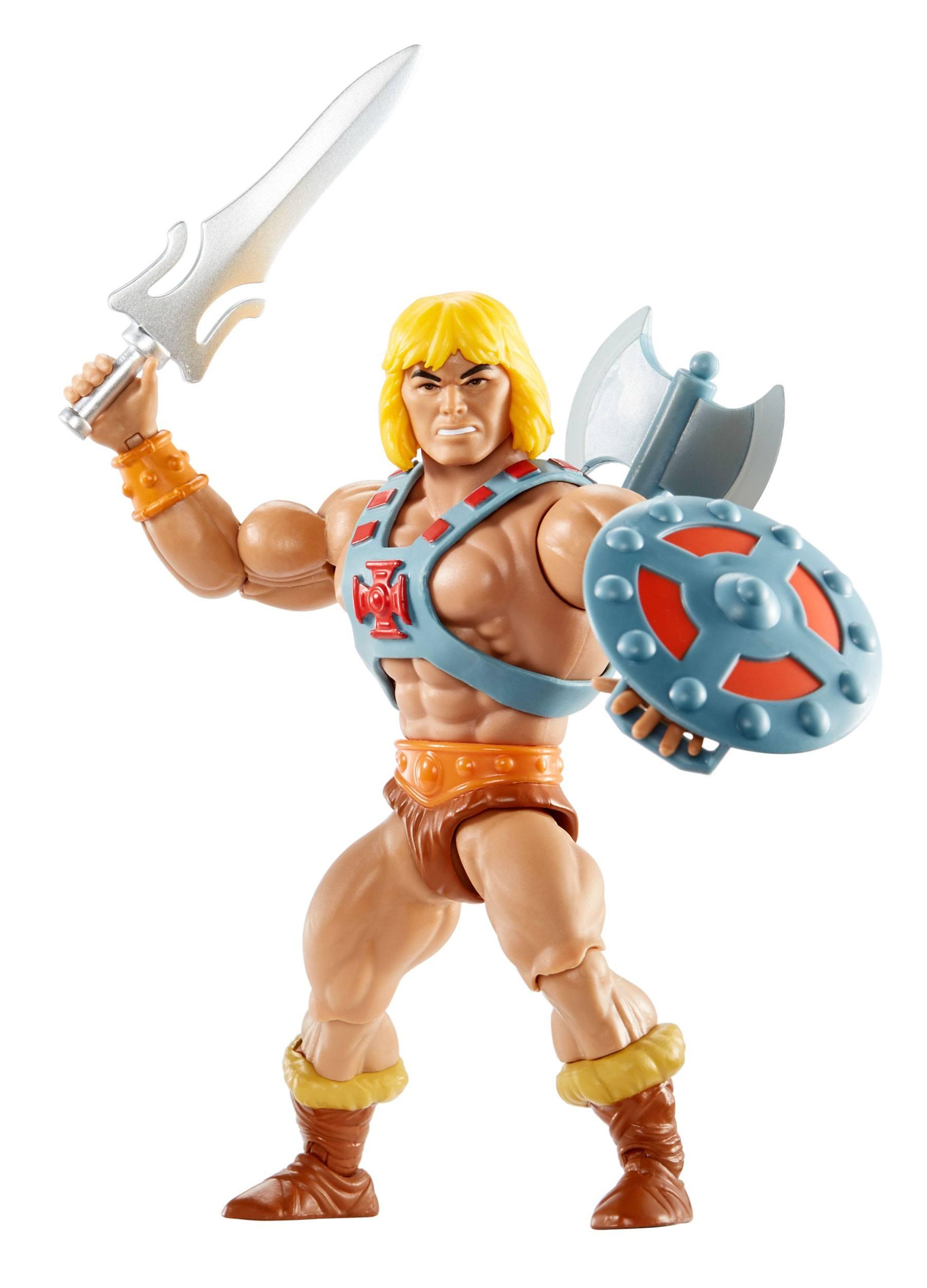 Masters of the Universe Origins Actionfigur 2021 He-Man 14 cm  MATTGNN85 887961875348