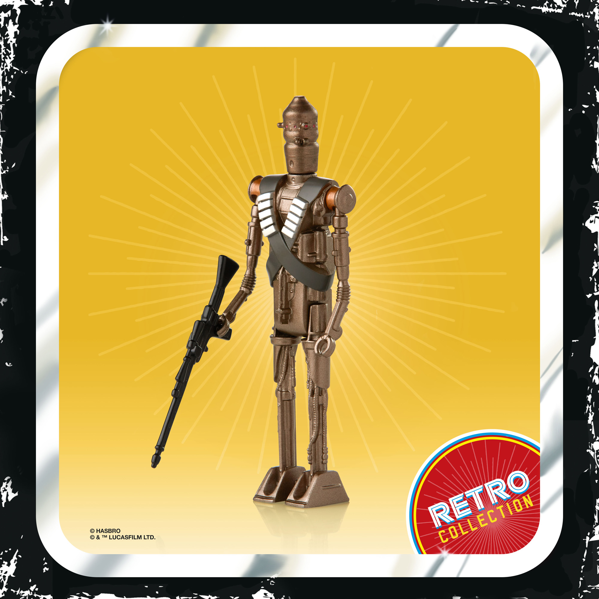 Star Wars The Mandalorian The Retro Collection IG-11 Figure F2021 5010993809097