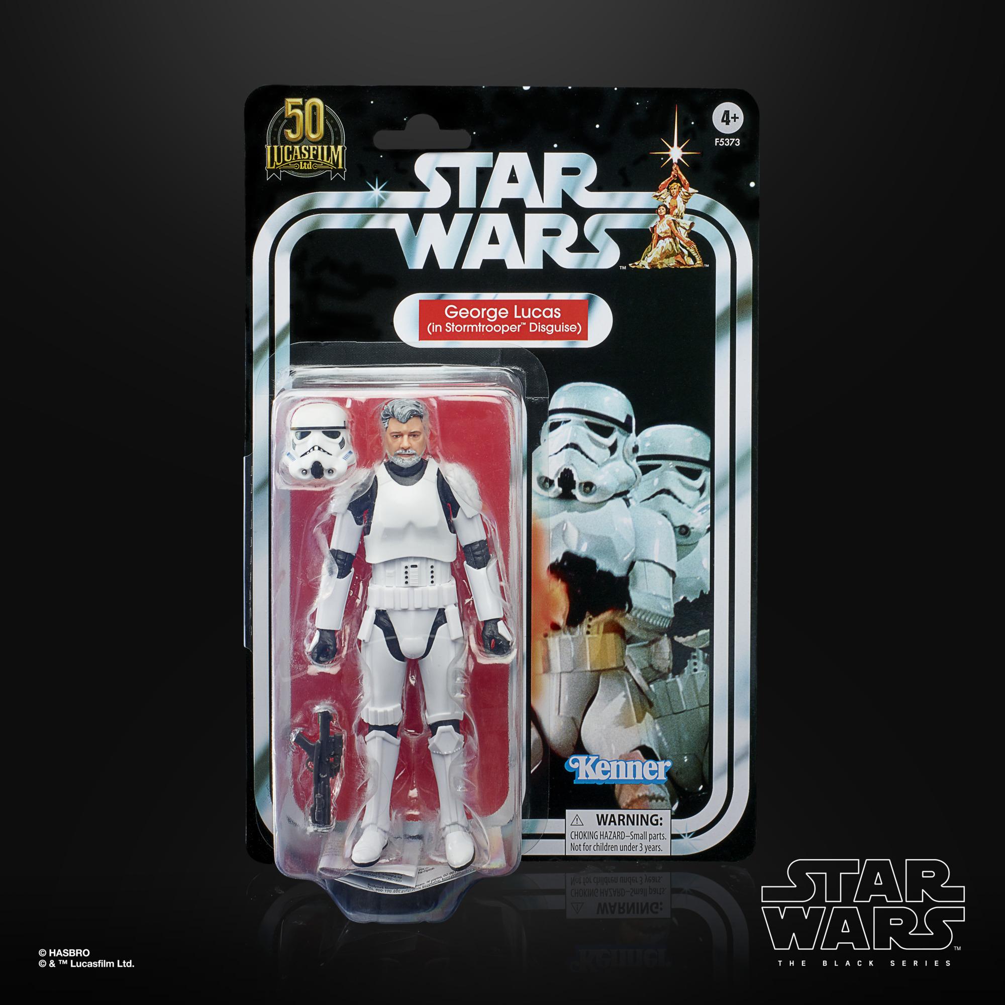 Star Wars The Black Series George Lucas (In Stormtrooper Disguise) F53735L00 5010993954247