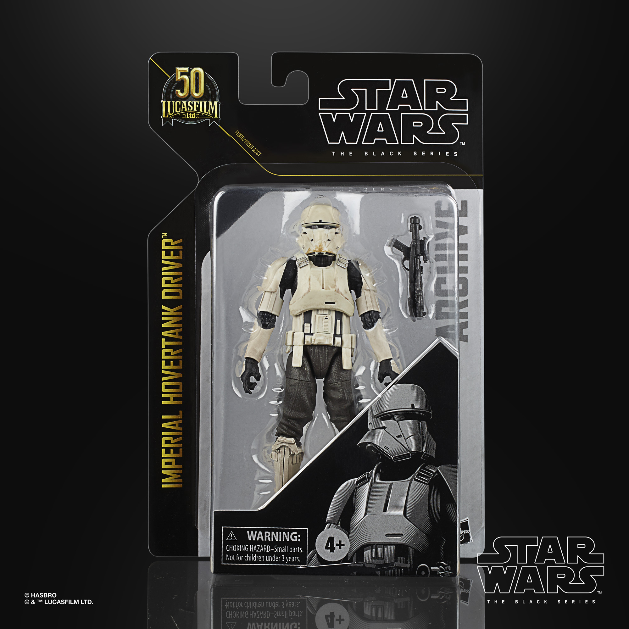 Star Wars The Black Series Archive Line Archive Imperial Hovertank Driver 15cm F19065L00  5010993825400