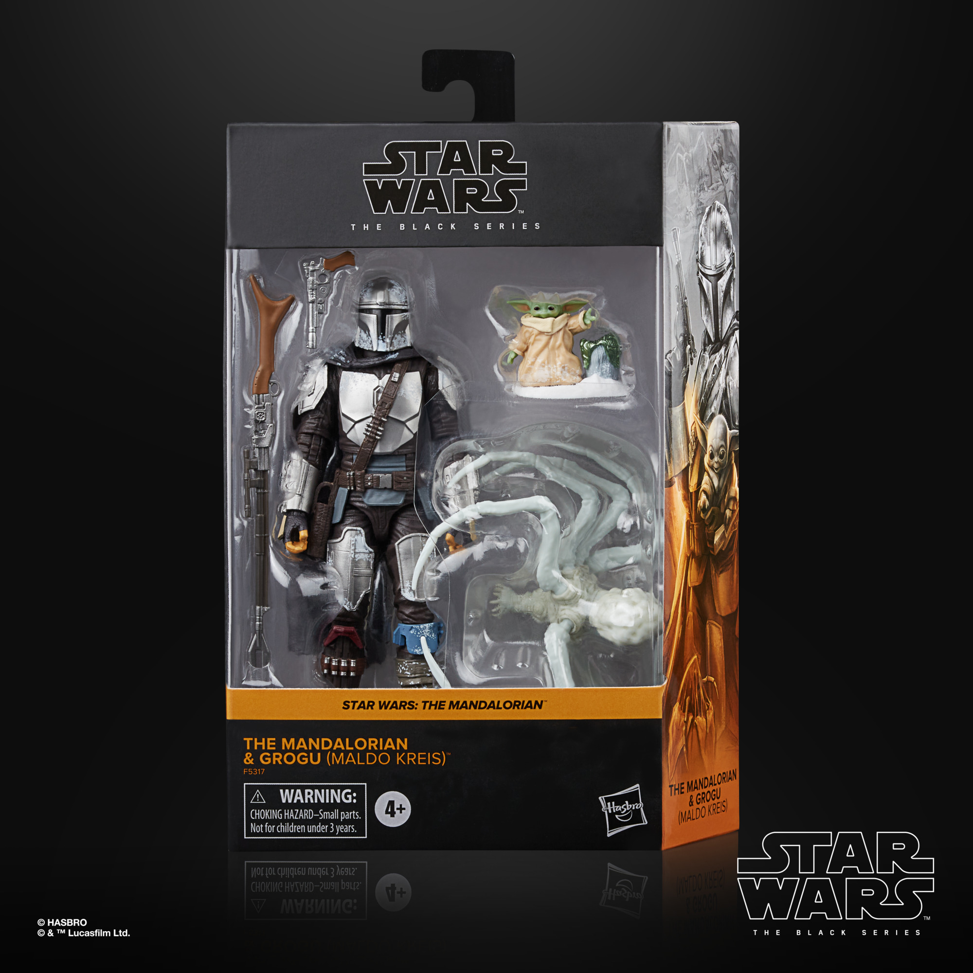 Star Wars The Black Series The Mandalorian & Grogu (Maldo Kreis) F53175L0 5010993954353