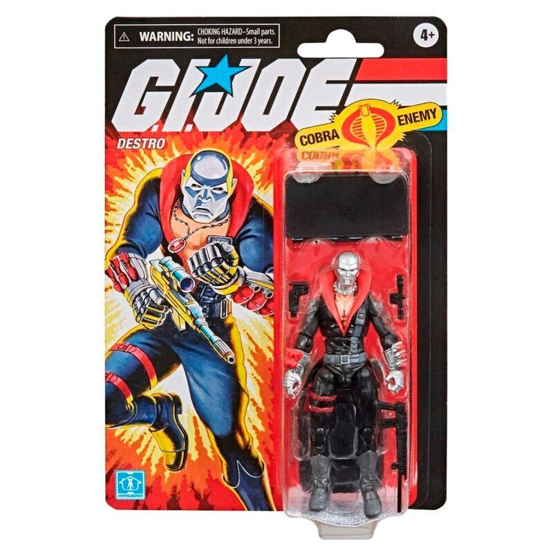 Import G.I. Joe RETRO Series Action Figure Destro 9,5 cm  5010993722969
