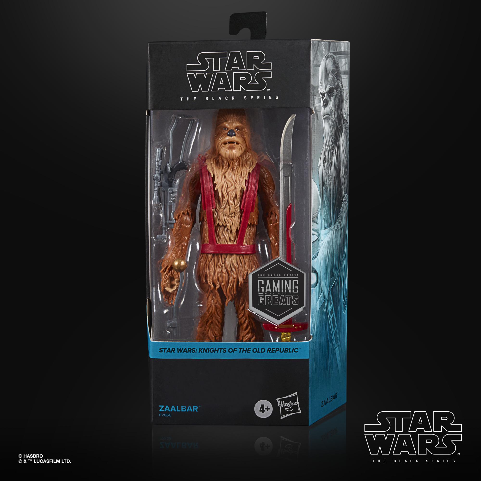 Star Wars The Black Series Gaming Greats – Zaalbar 6-Inch Figure F2866