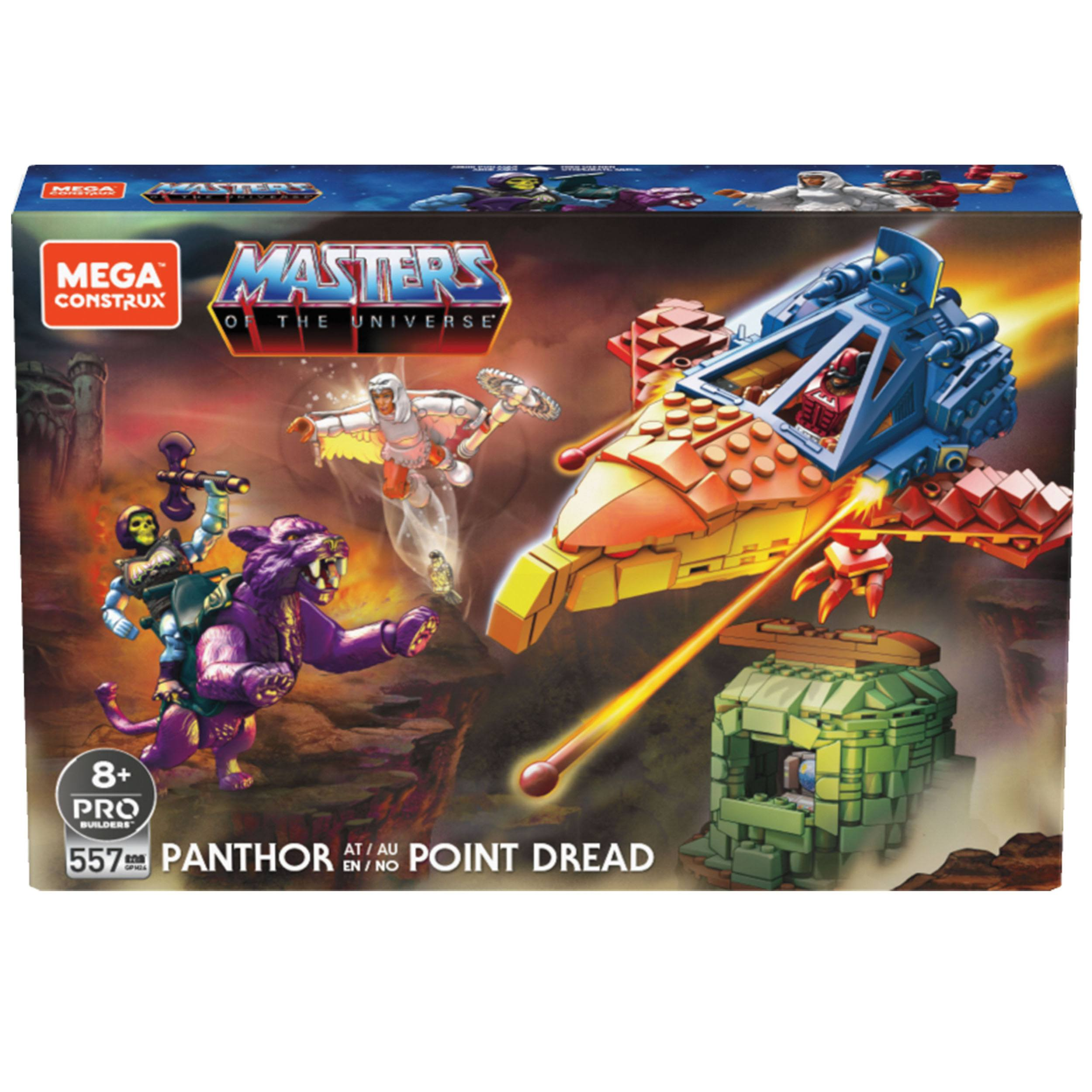 Masters of the Universe Mega Construx Probuilders Bauset Panthor at Point Dread GPH240 887961886993