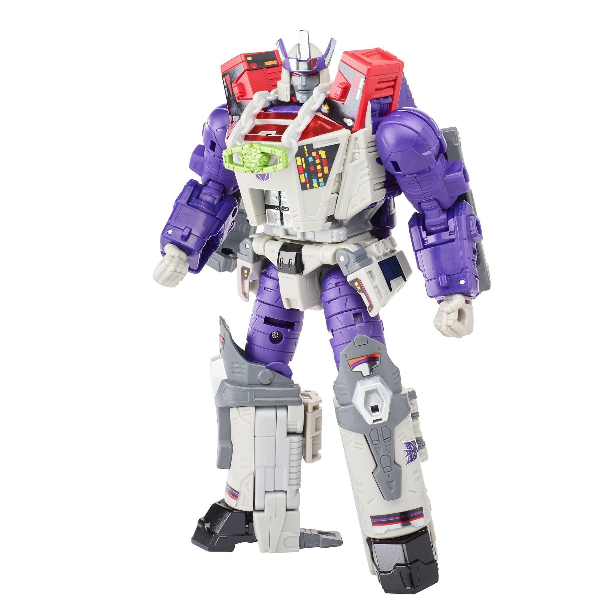 Transformers Generations War For Cybertron Trilogy Leader Class Actionfigur 2021 Galvatron 18 cm HASF1809 5010993897452