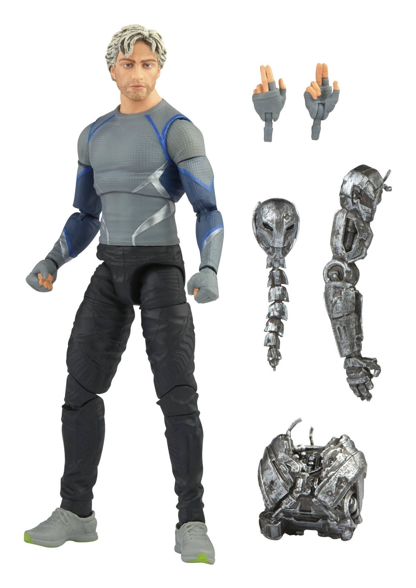 The Infinity Saga Marvel Legends Series Actionfigur 2021 Quicksilver (Avengers: Age of Ultron) 15 cm F01865L0 5010993839285