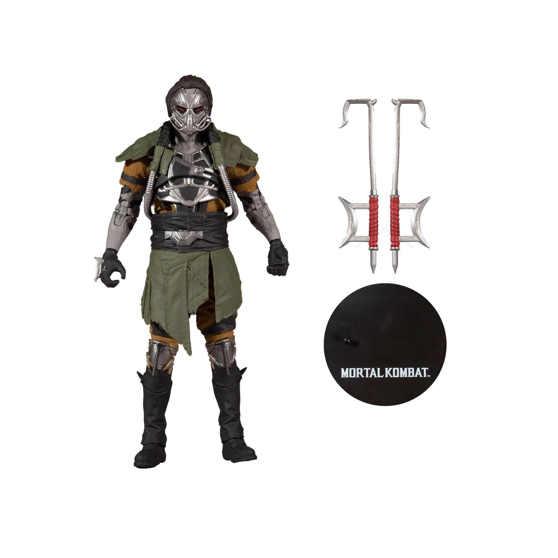 Mortal Kombat Actionfigur Kabal: Hooked Up Skin 18 cm MCF11047-0 787926110470