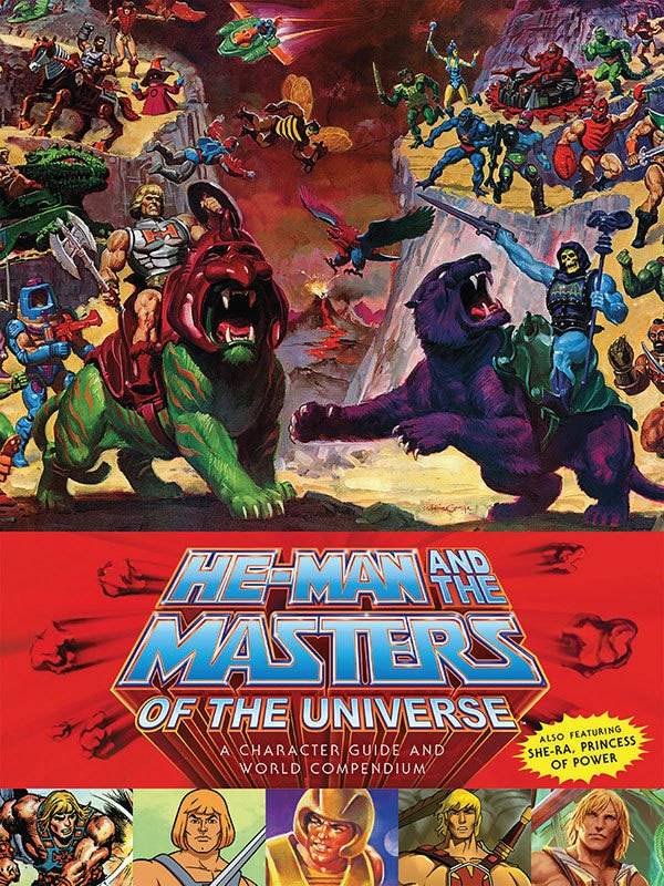 He-Man and the Masters of the Universe Buch A Character Guide and World Compendium *Englisch* DAHO29-716 9781506701424